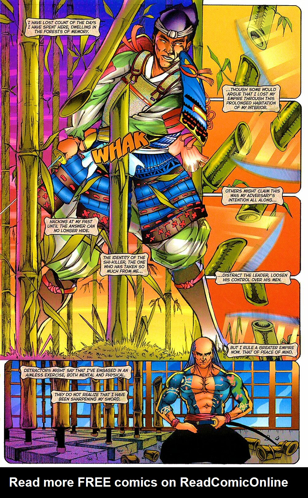 Read online Shi: The Way of the Warrior comic -  Issue #12 - 6