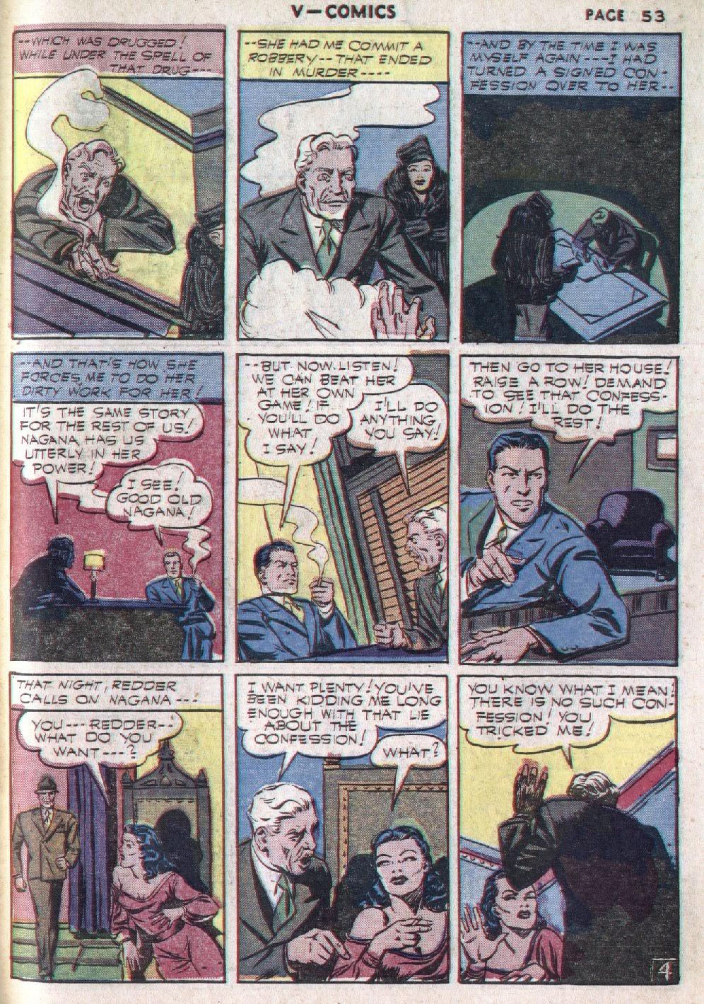 Read online V...- Comics comic -  Issue #1 - 54