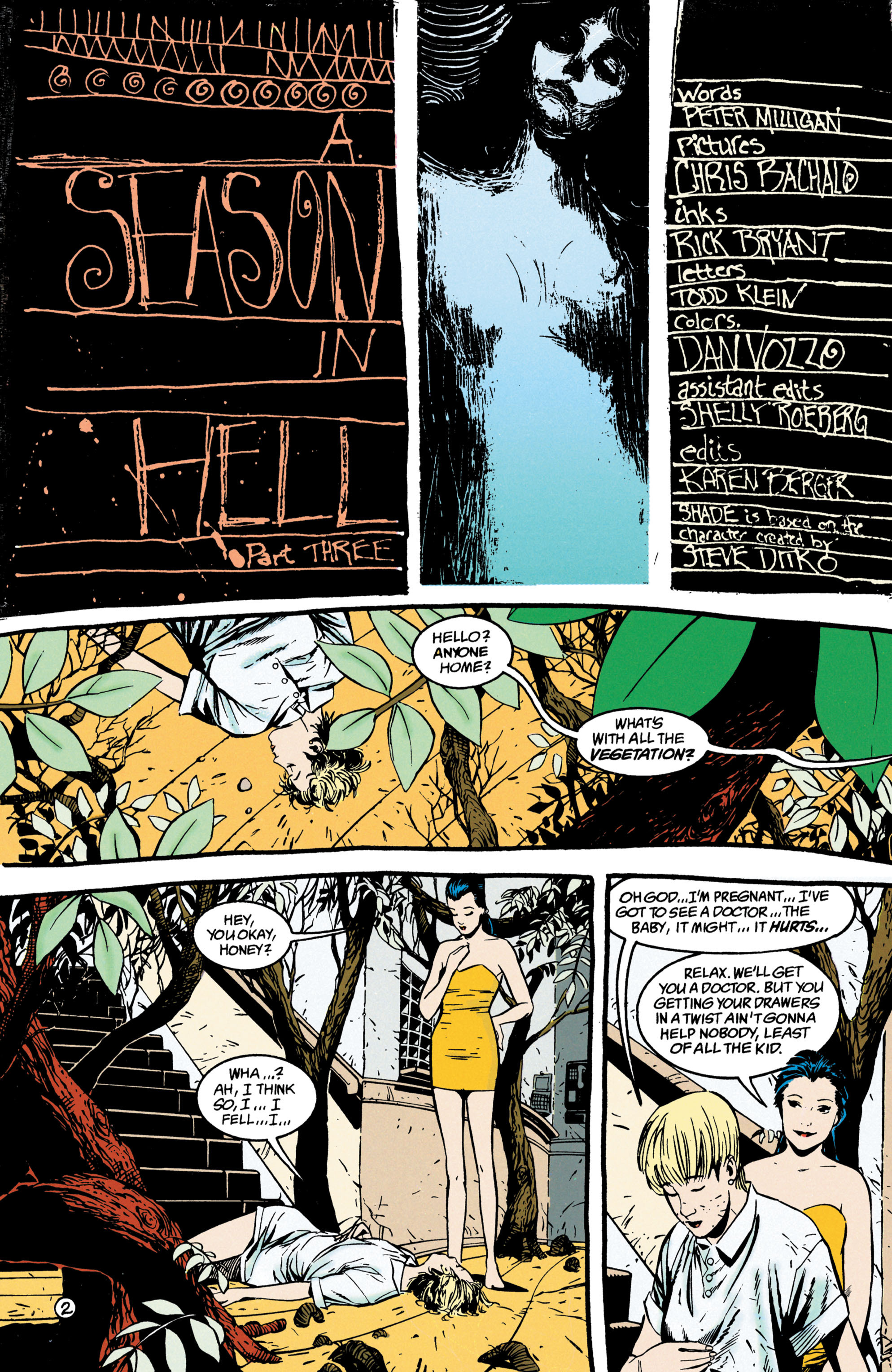 Read online Shade, the Changing Man comic -  Issue #47 - 3