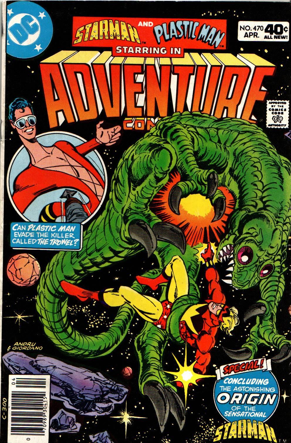Read online Adventure Comics (1938) comic -  Issue #470 - 1