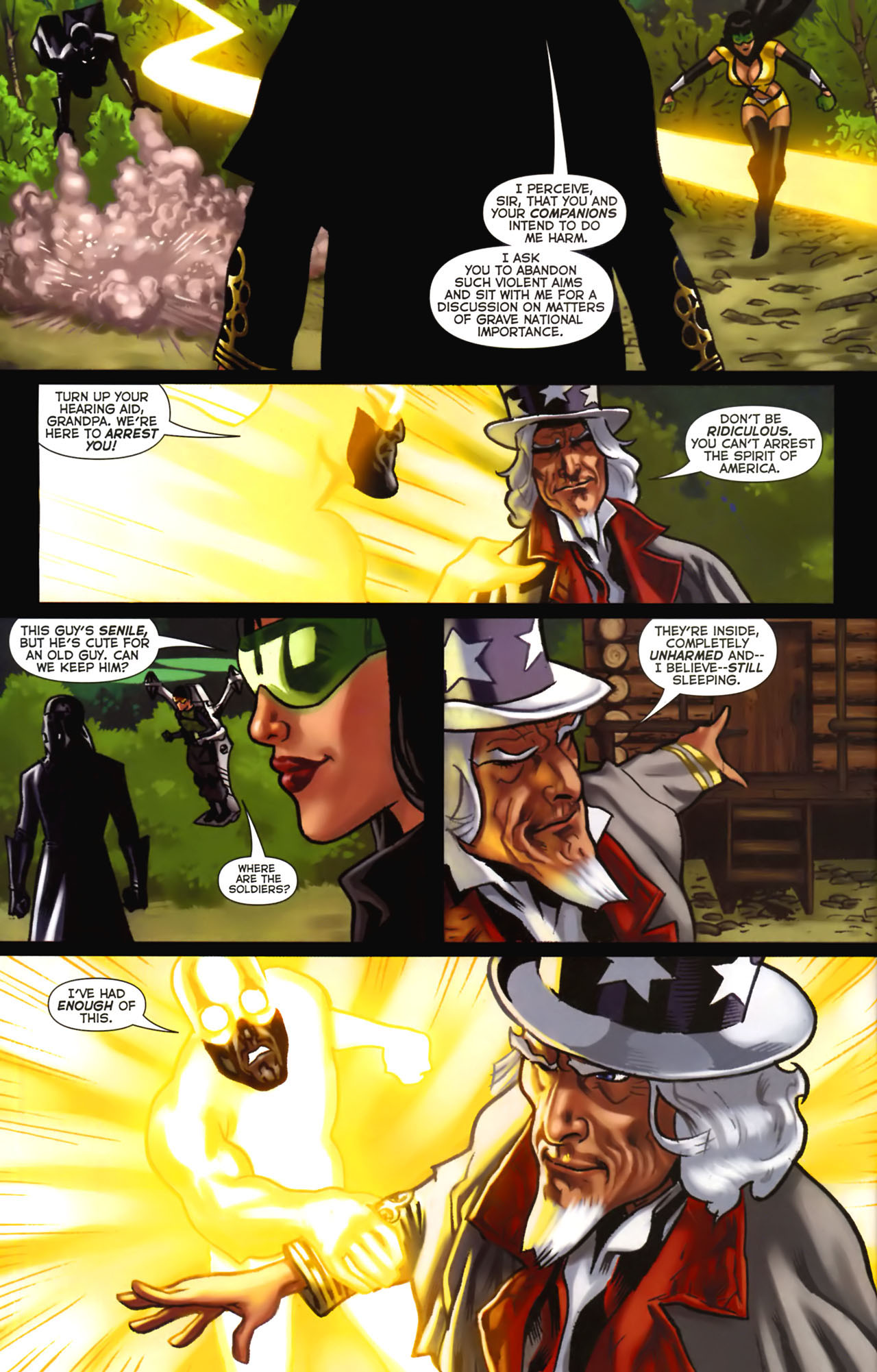 Read online Uncle Sam and the Freedom Fighters (2006) comic -  Issue #2 - 6