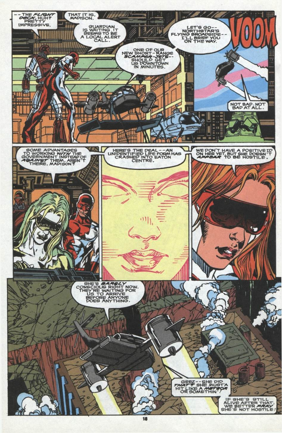 Read online Alpha Flight (1983) comic -  Issue #97 - 15