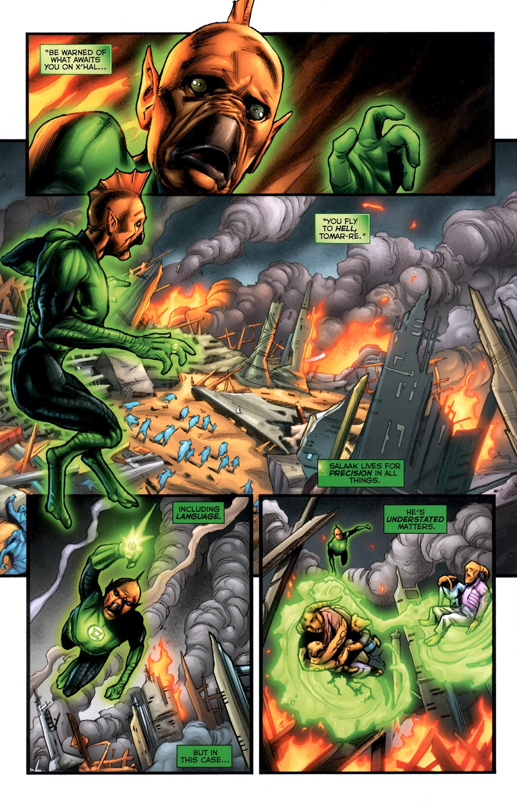 Read online Green Lantern Movie Prequel: Tomar-Re comic -  Issue # Full - 5