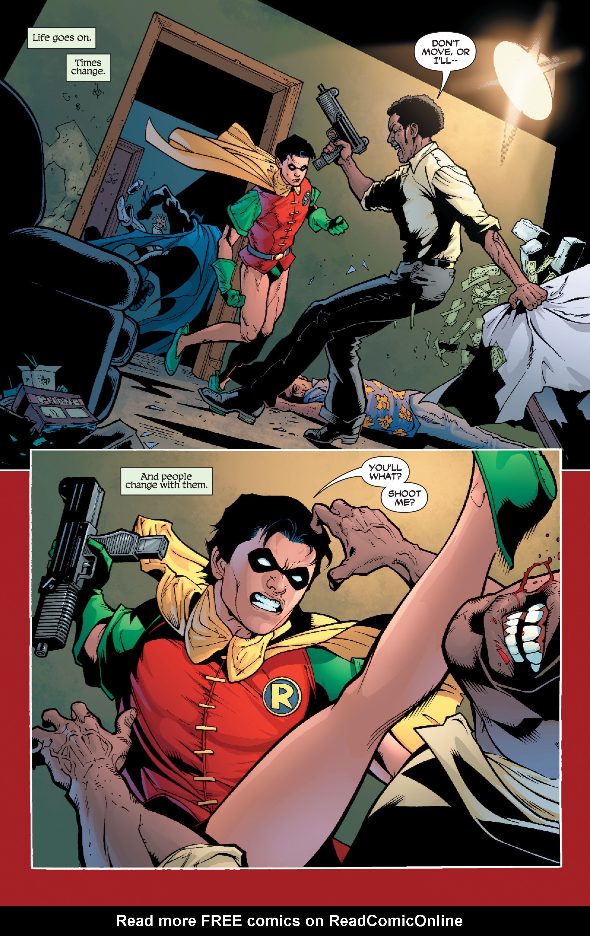 Read online Batman: Under The Red Hood comic -  Issue # Full - 191