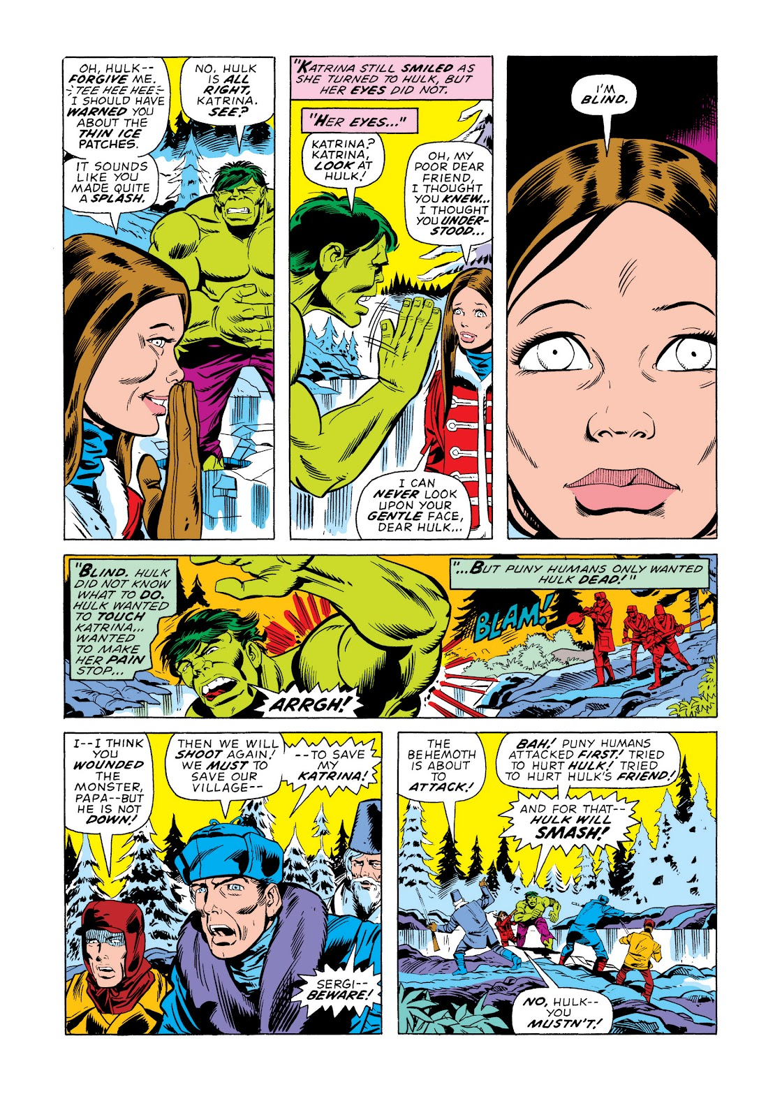 Read online Marvel Masterworks: The Incredible Hulk comic -  Issue # TPB 11 (Part 2) - 5