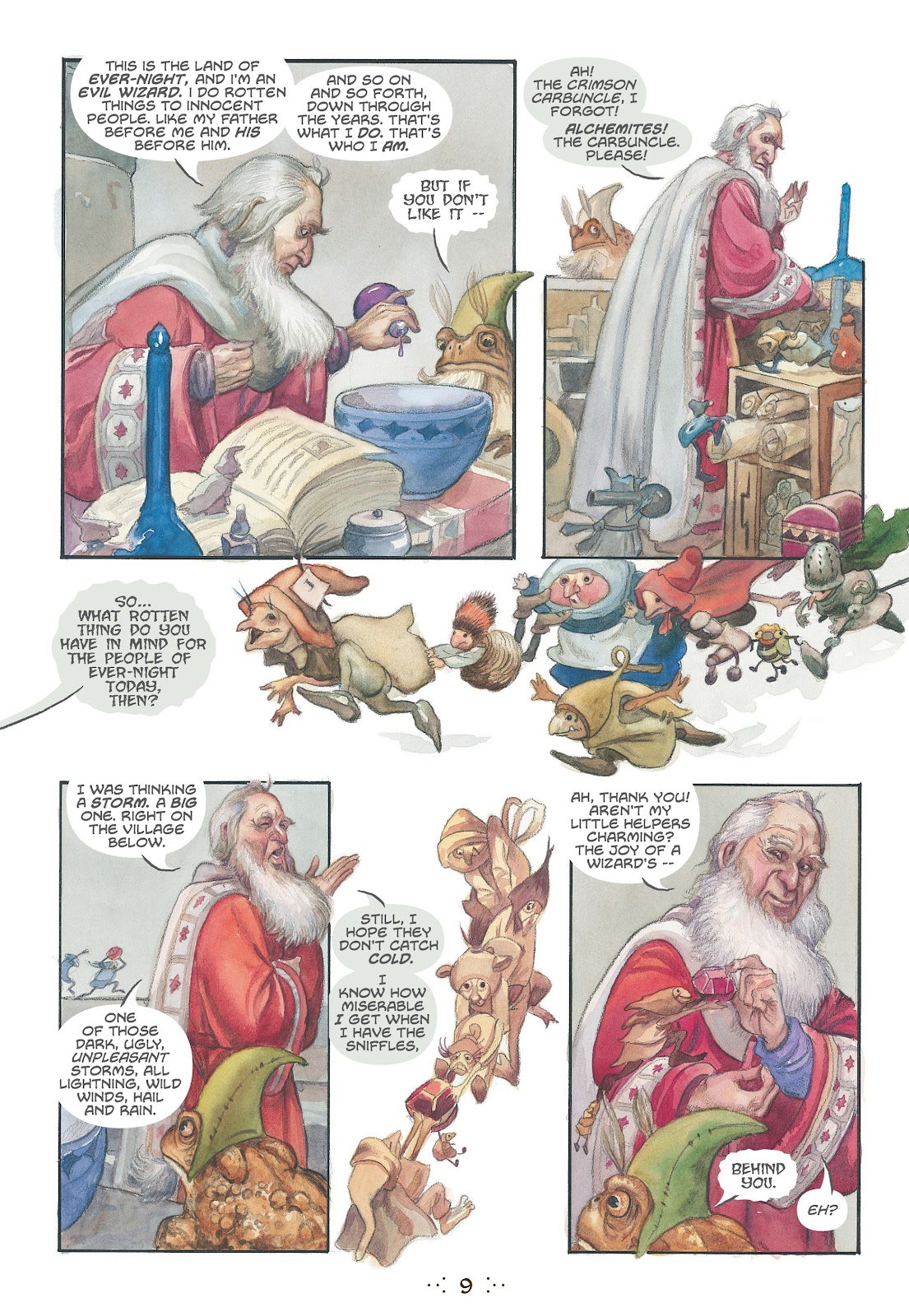 Read online The Wizard's Tale comic -  Issue # TPB - 8