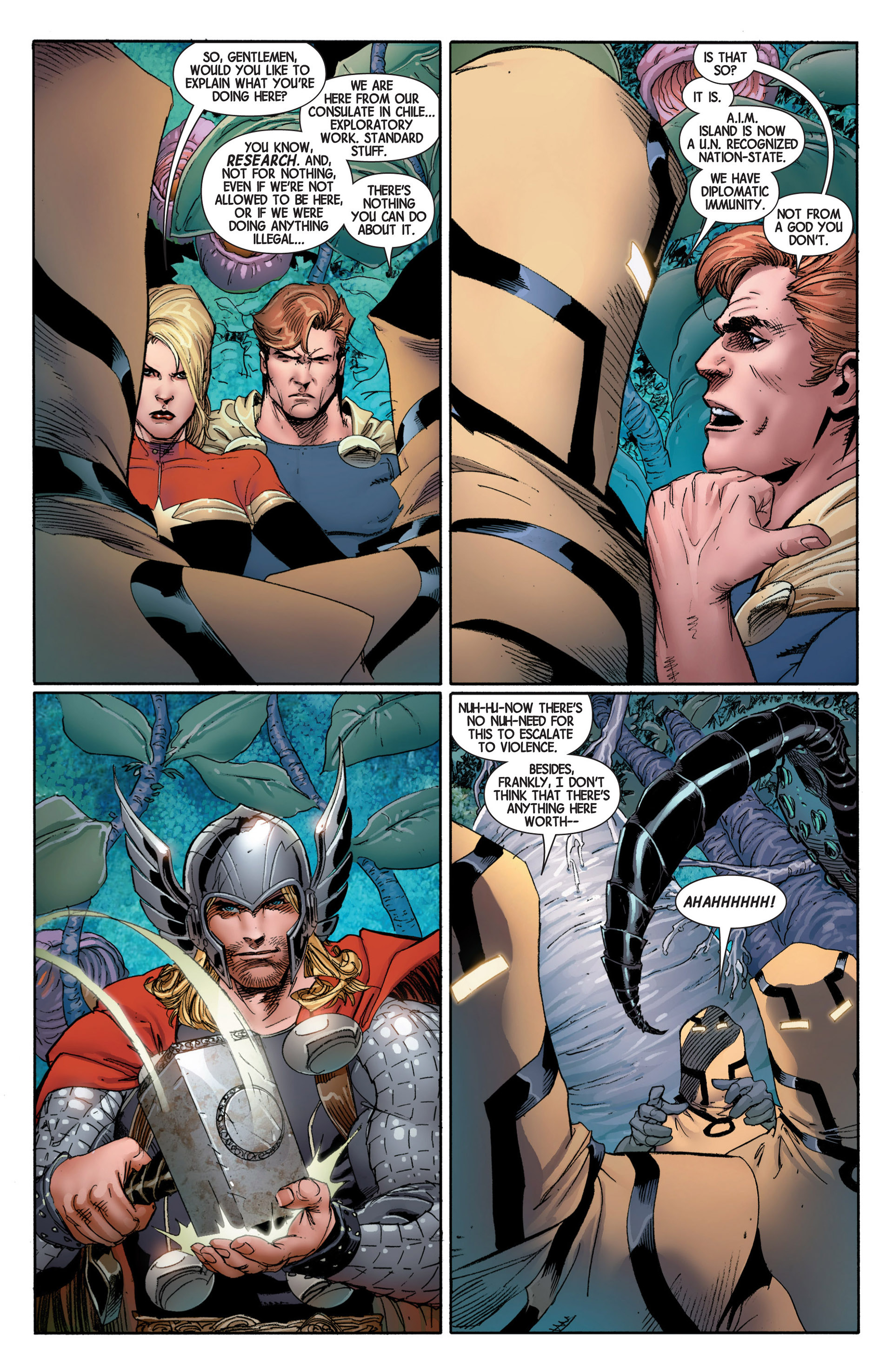 Read online Avengers (2013) comic -  Issue #4 - 16