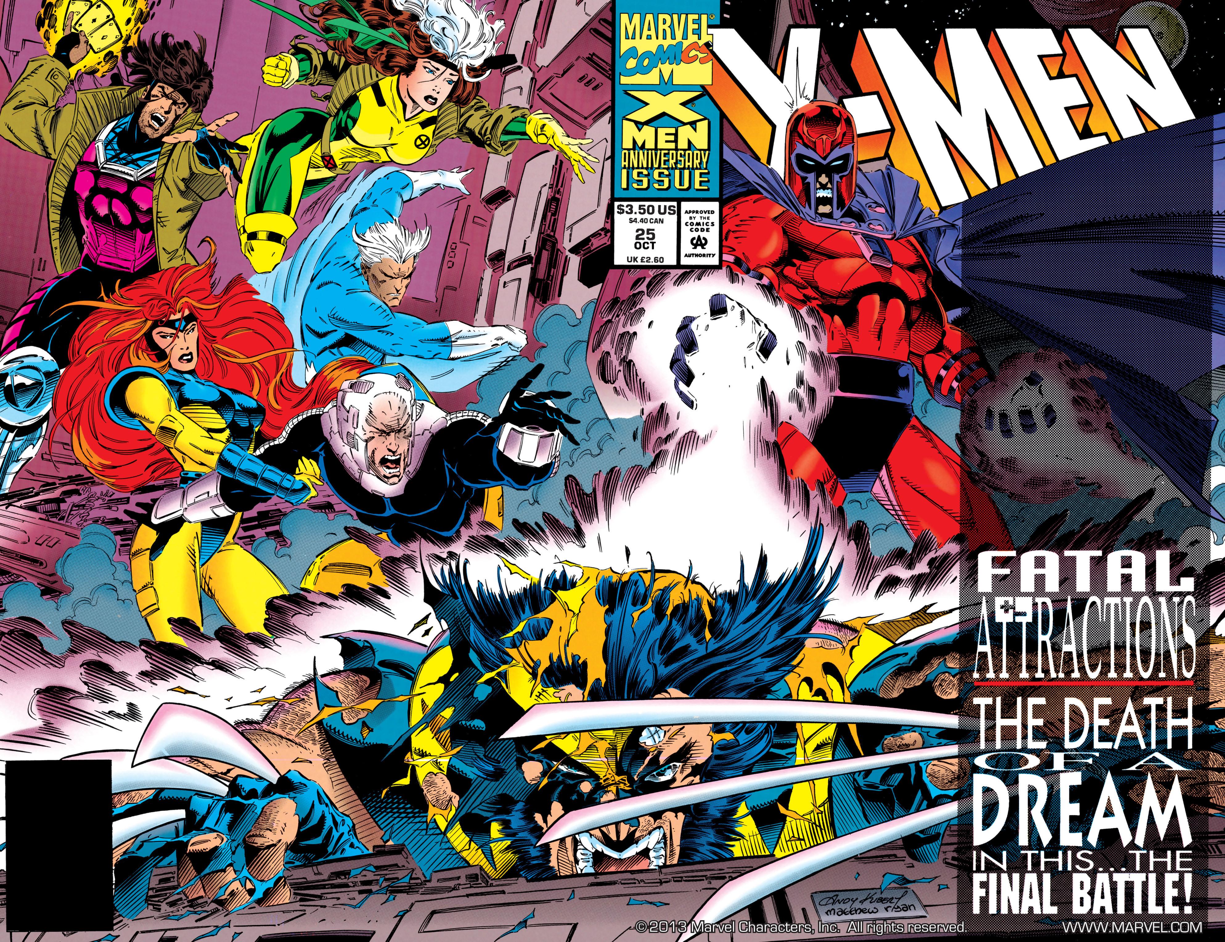 X-Men (1991) 25 Page 1