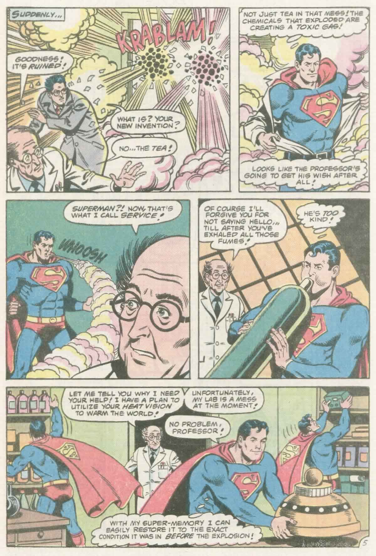 Read online Action Comics (1938) comic -  Issue #558 - 6