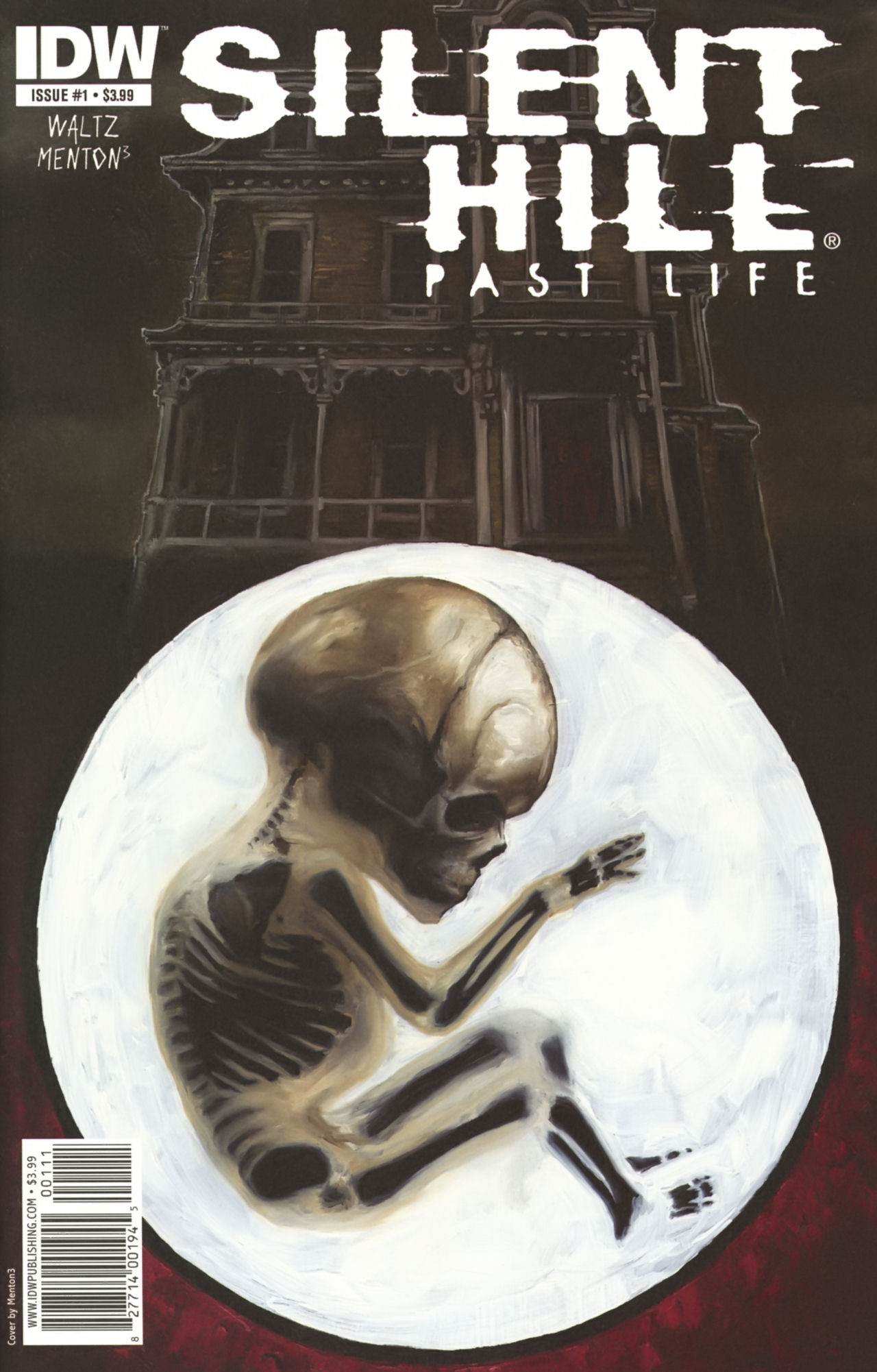 Read online Silent Hill: Past Life comic -  Issue #1 - 1