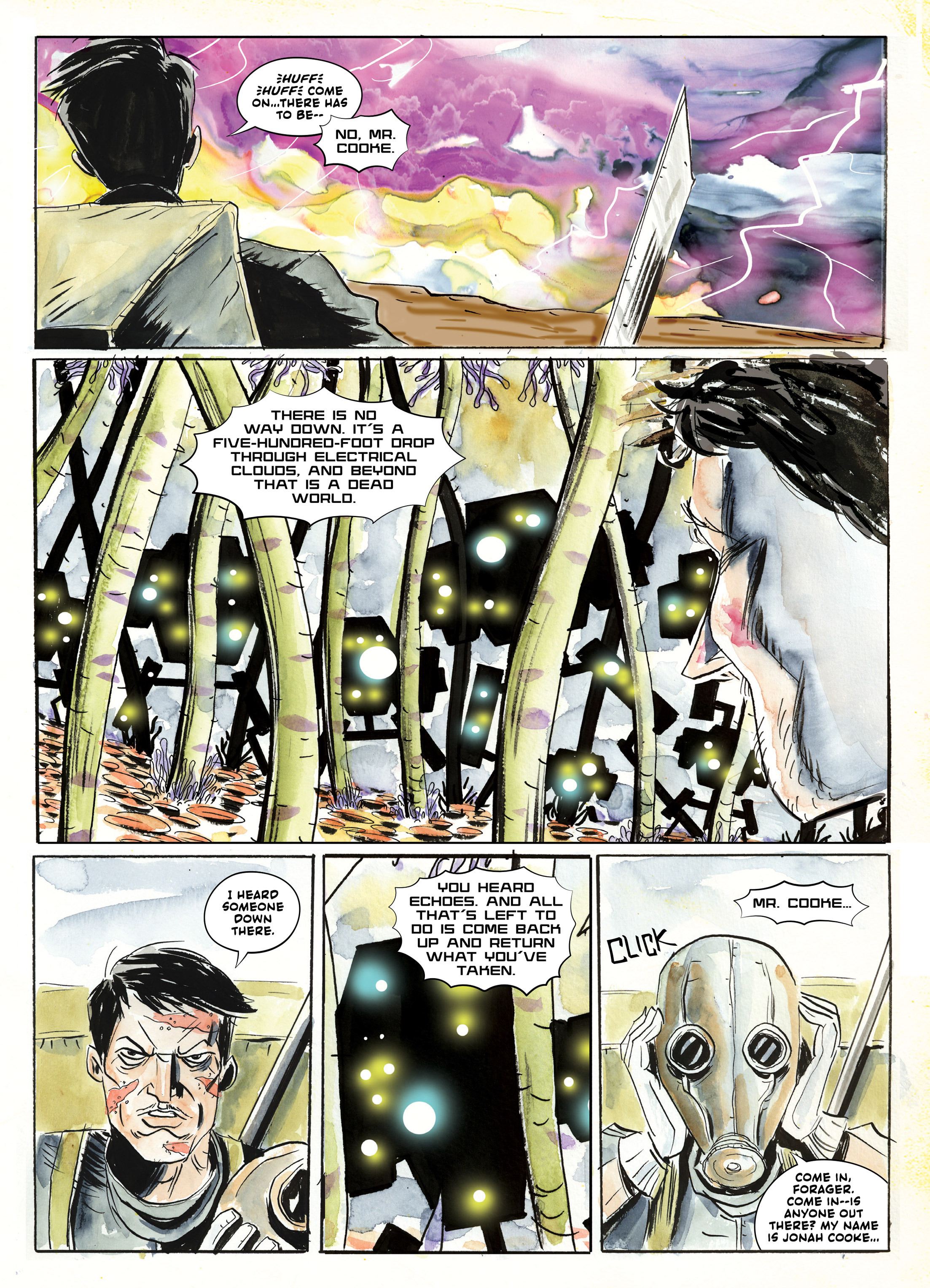 Read online A.D.: After Death comic -  Issue #2 - 9