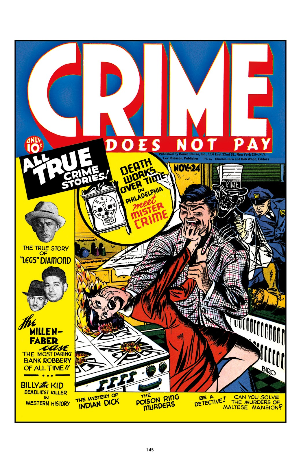Read online Crime Does Not Pay Archives comic -  Issue # TPB 1 (Part 2) - 48