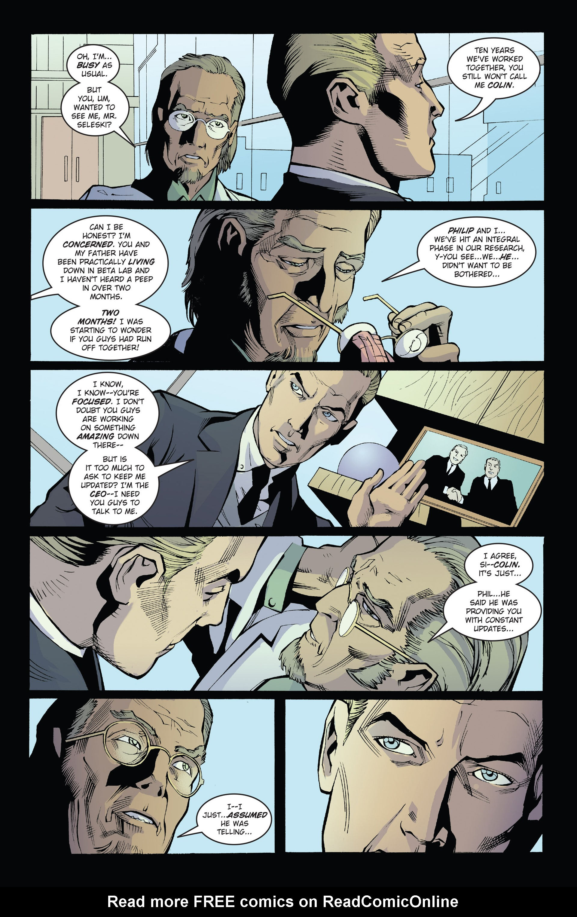 Read online Solar: Man of the Atom (2014) comic -  Issue #1 - 14