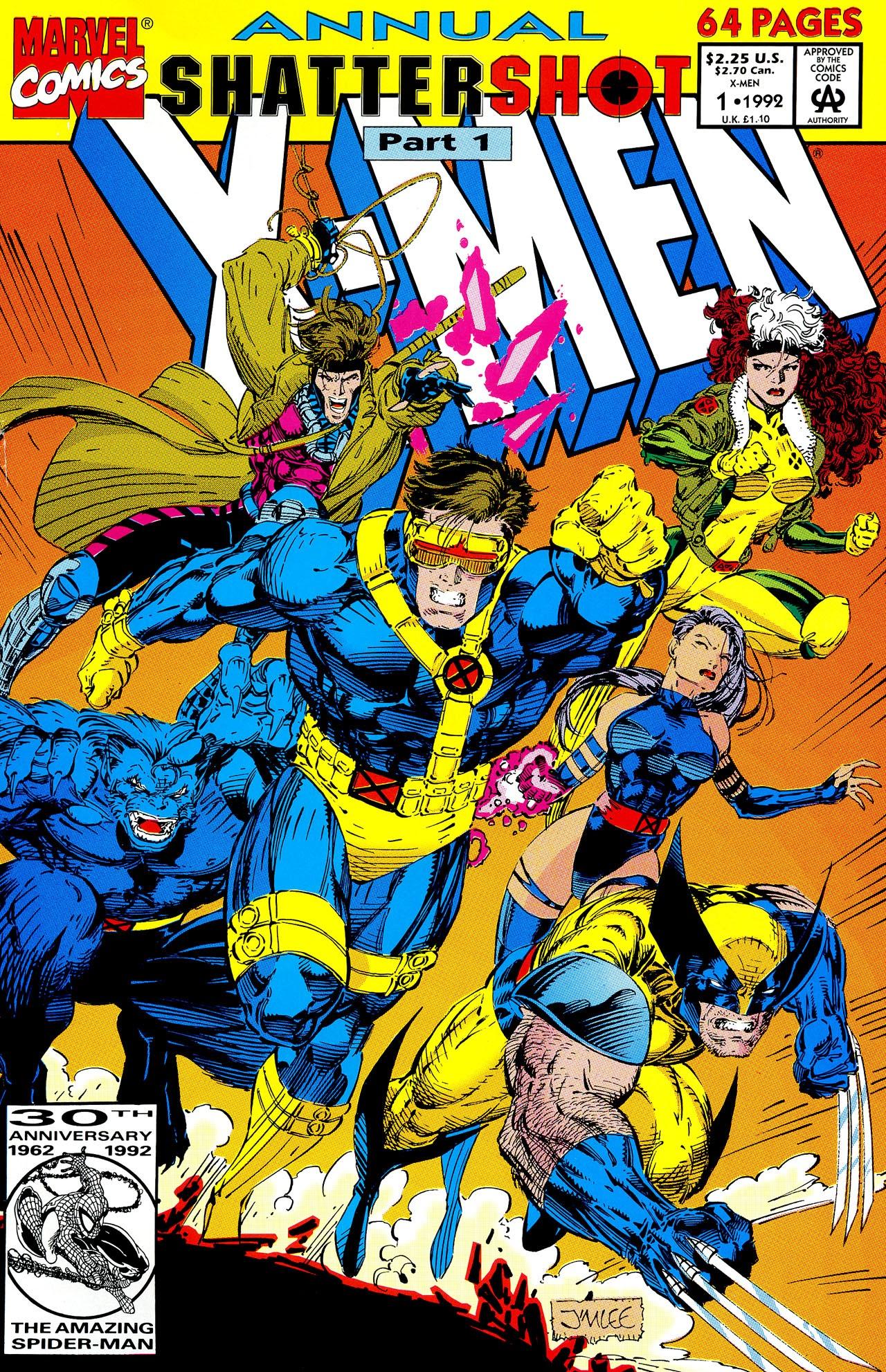 X-Men (1991) Annual_1 Page 1