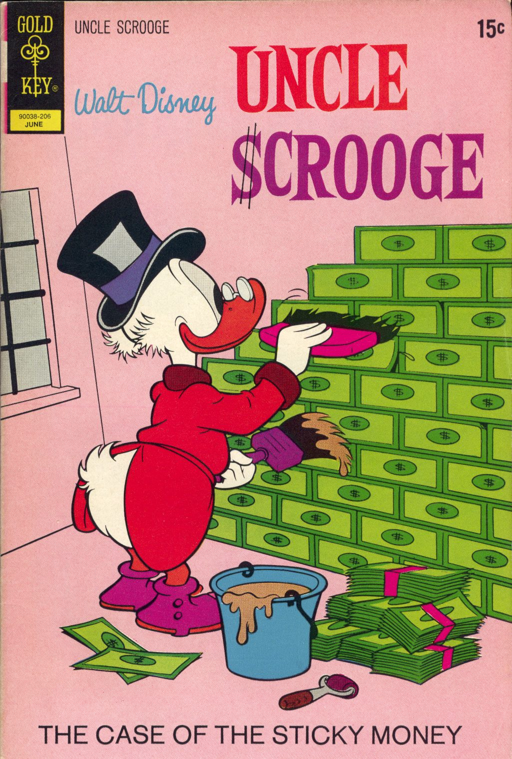 Read online Uncle Scrooge (1953) comic -  Issue #99 - 1