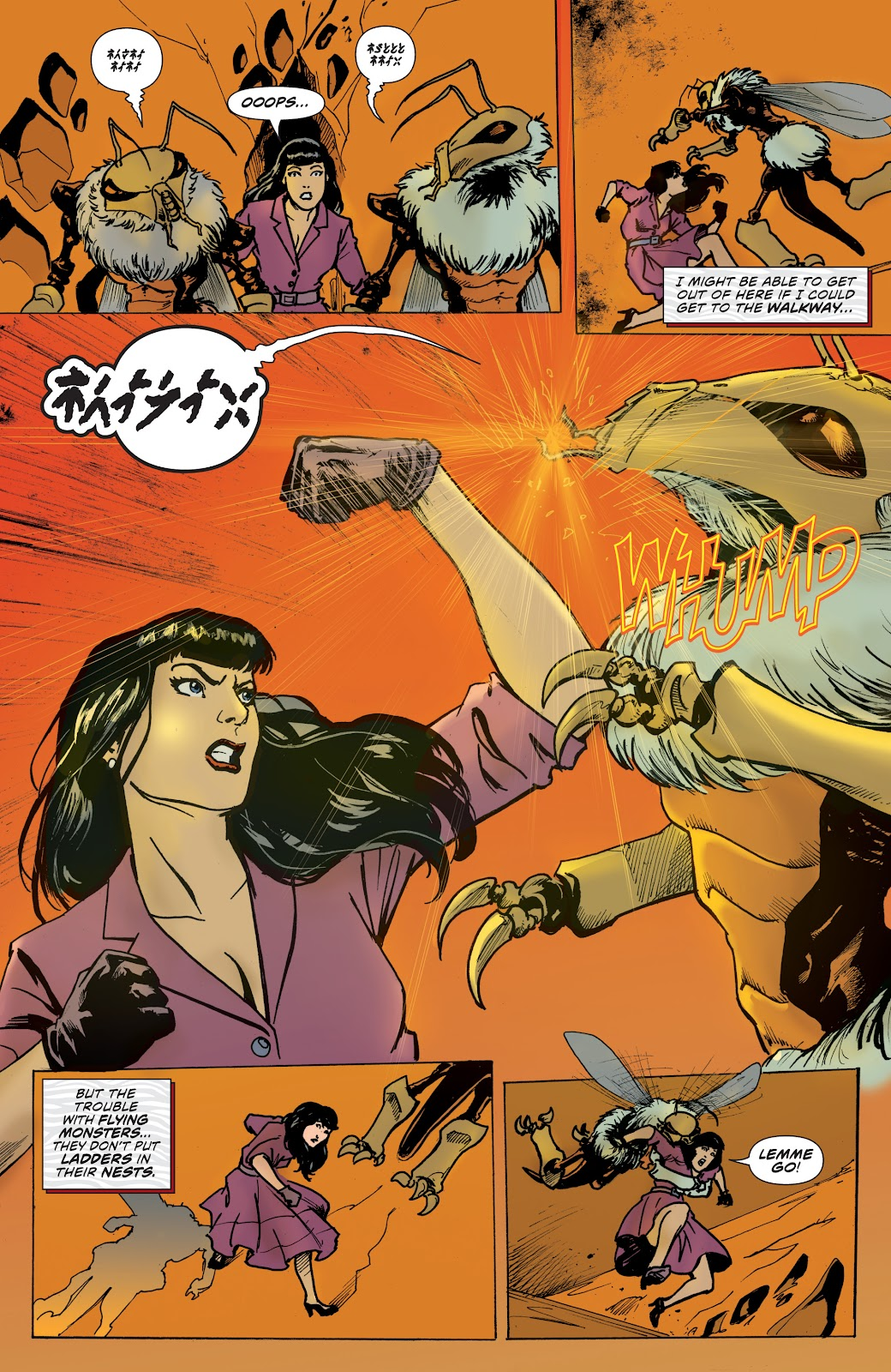 Read online Bettie Page: Unbound comic -  Issue #7 - 19
