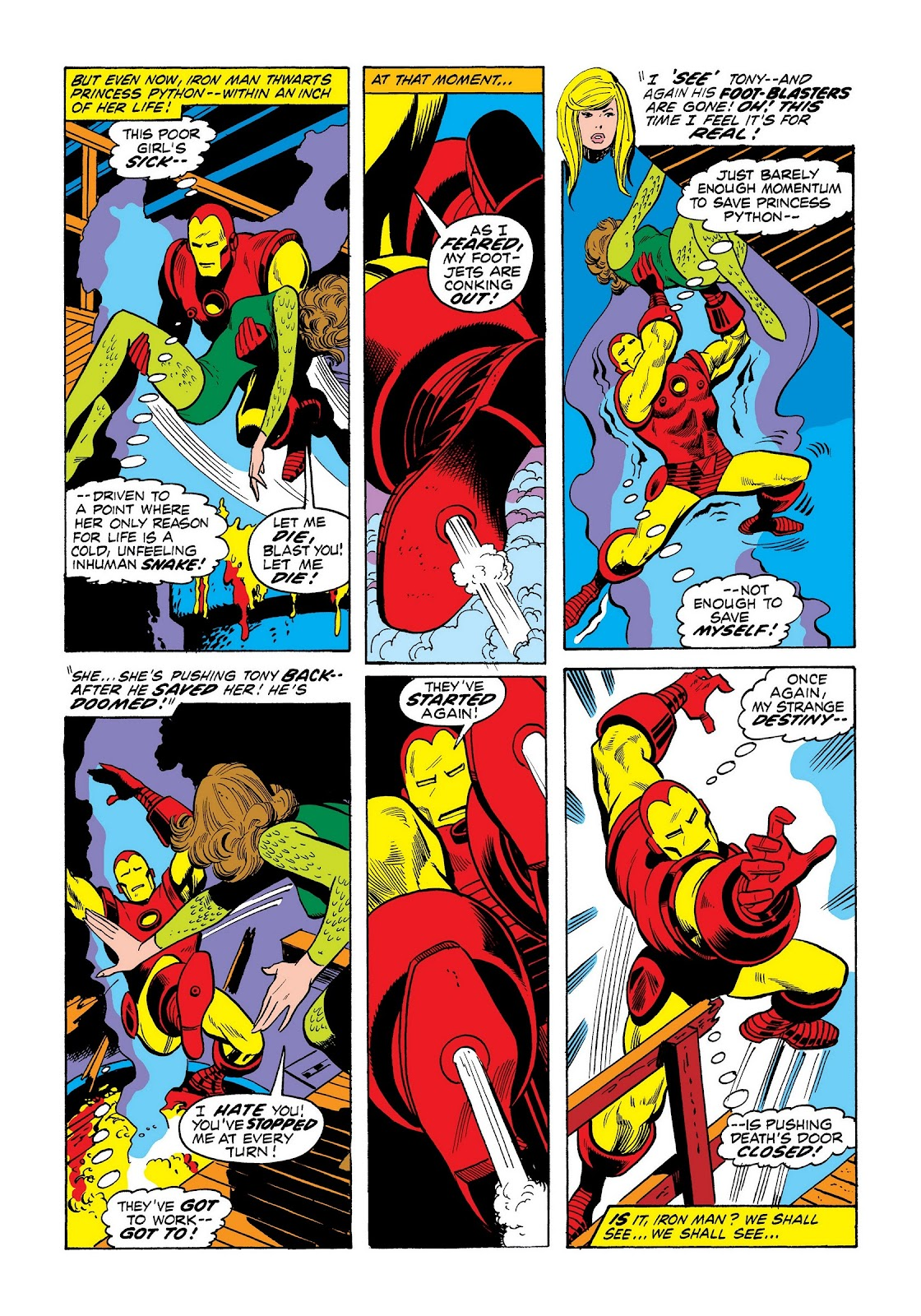 Read online Marvel Masterworks: The Invincible Iron Man comic -  Issue # TPB 8 (Part 3) - 49