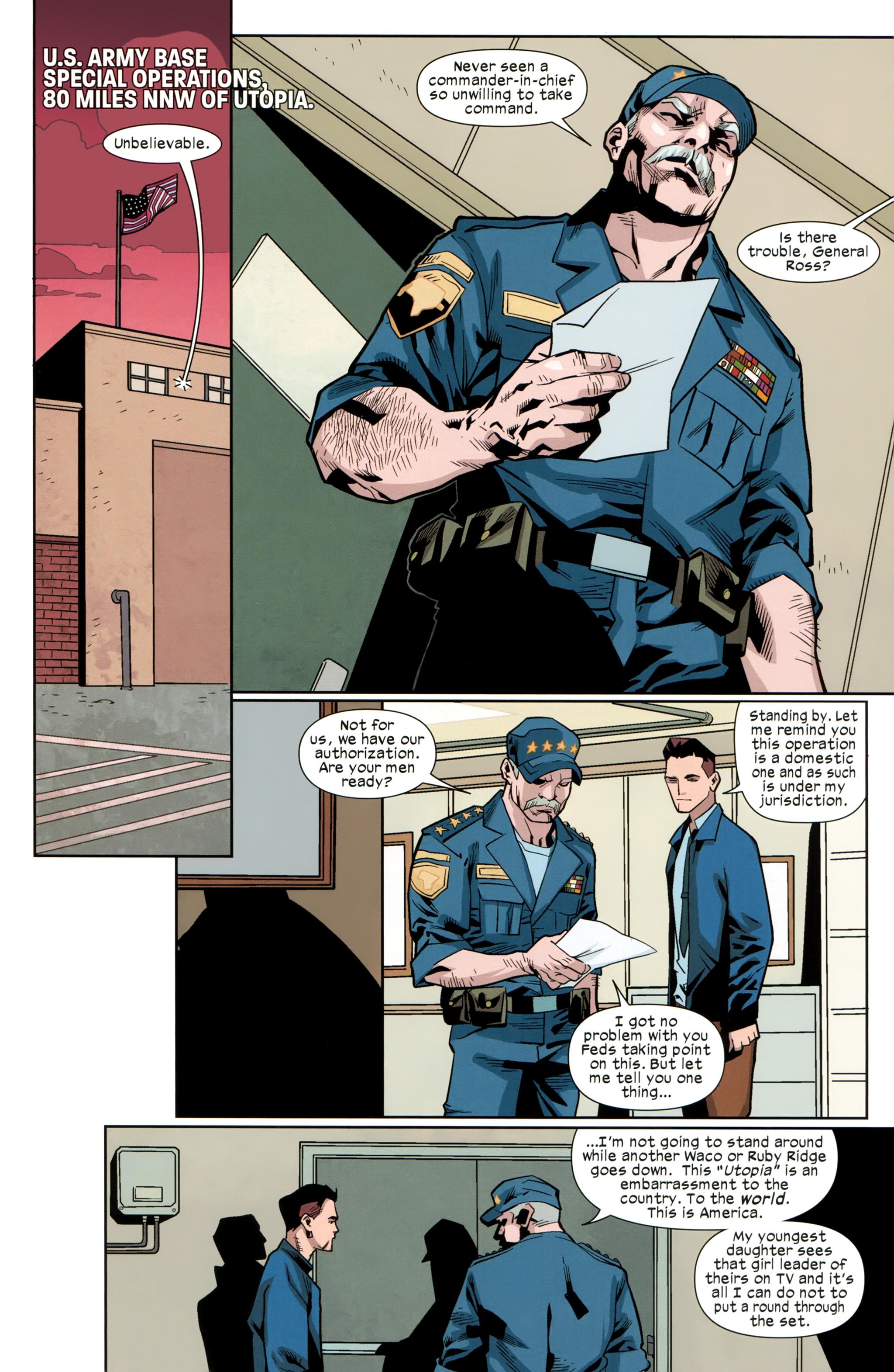 Read online Ultimate Comics X-Men comic -  Issue #25 - 21