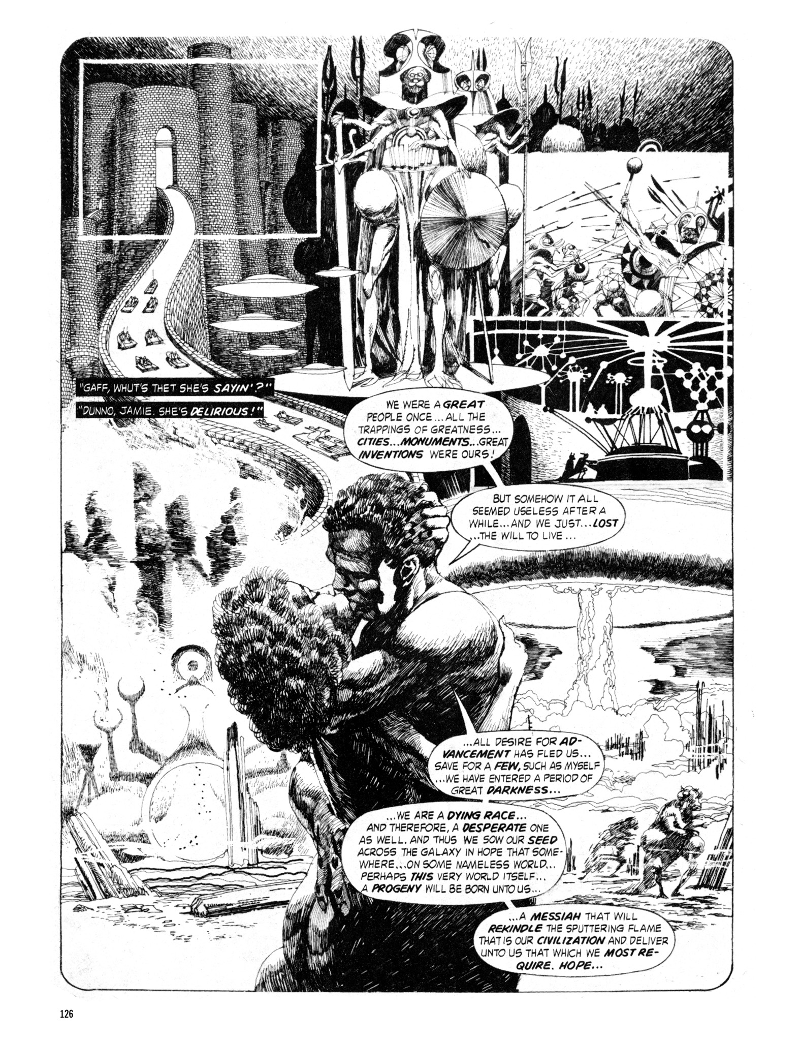 Read online Eerie Archives comic -  Issue # TPB 18 - 127