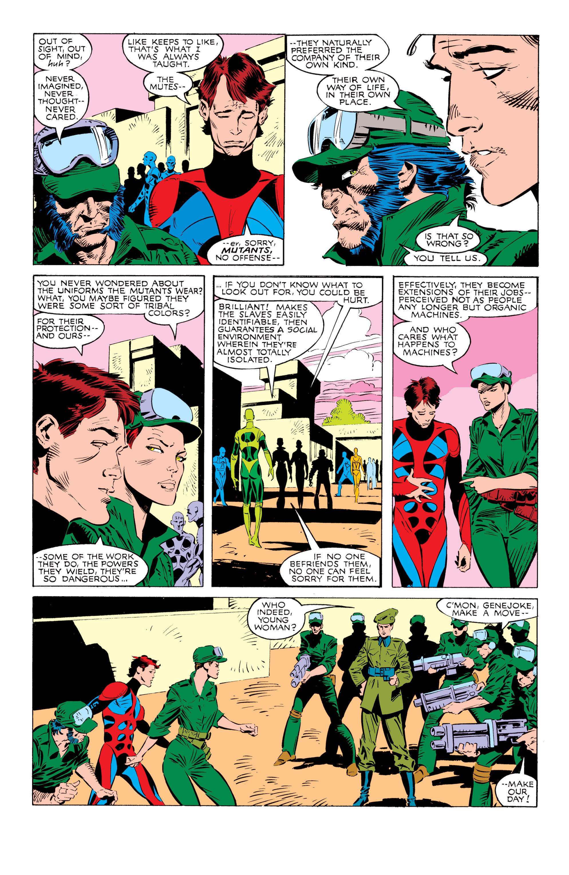 Read online Uncanny X-Men (1963) comic -  Issue #238 - 10