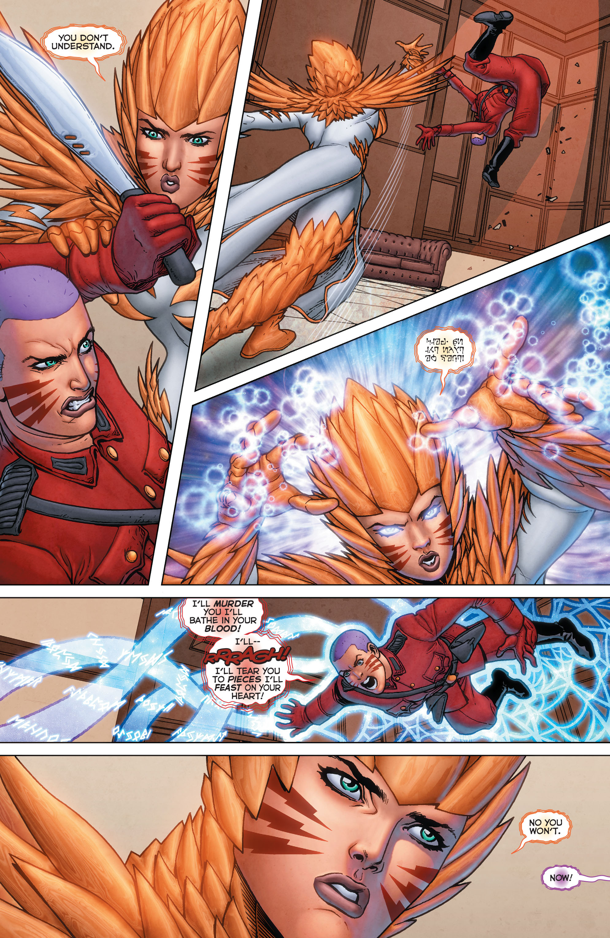 Read online Trinity of Sin: Pandora: Futures End comic -  Issue # Full - 10