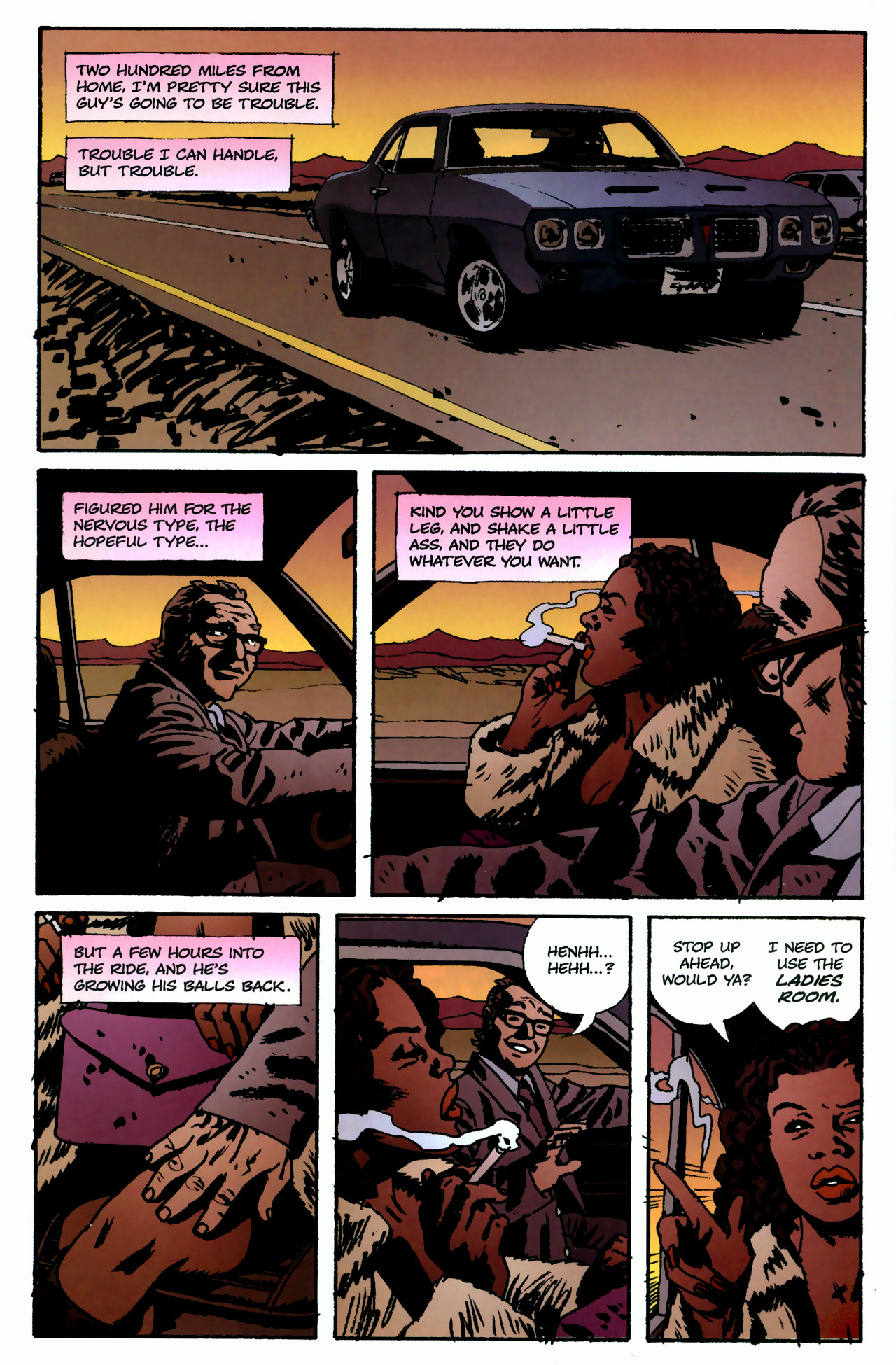 Read online Criminal (2008) comic -  Issue #3 - 3