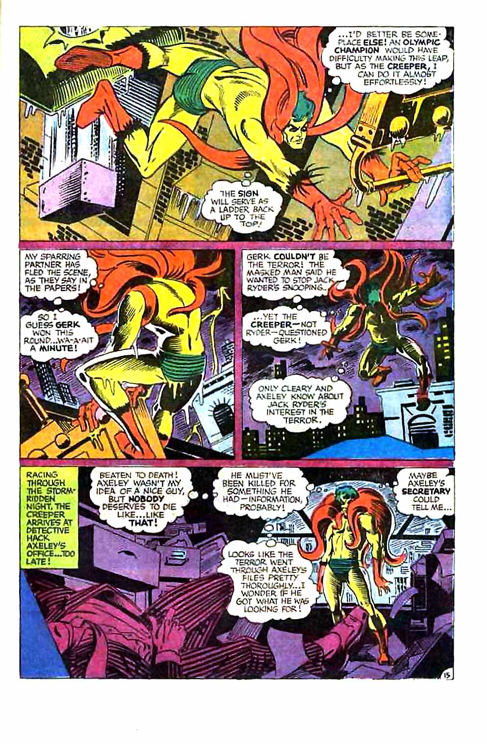 Beware The Creeper (1968) issue 1 - Page 21
