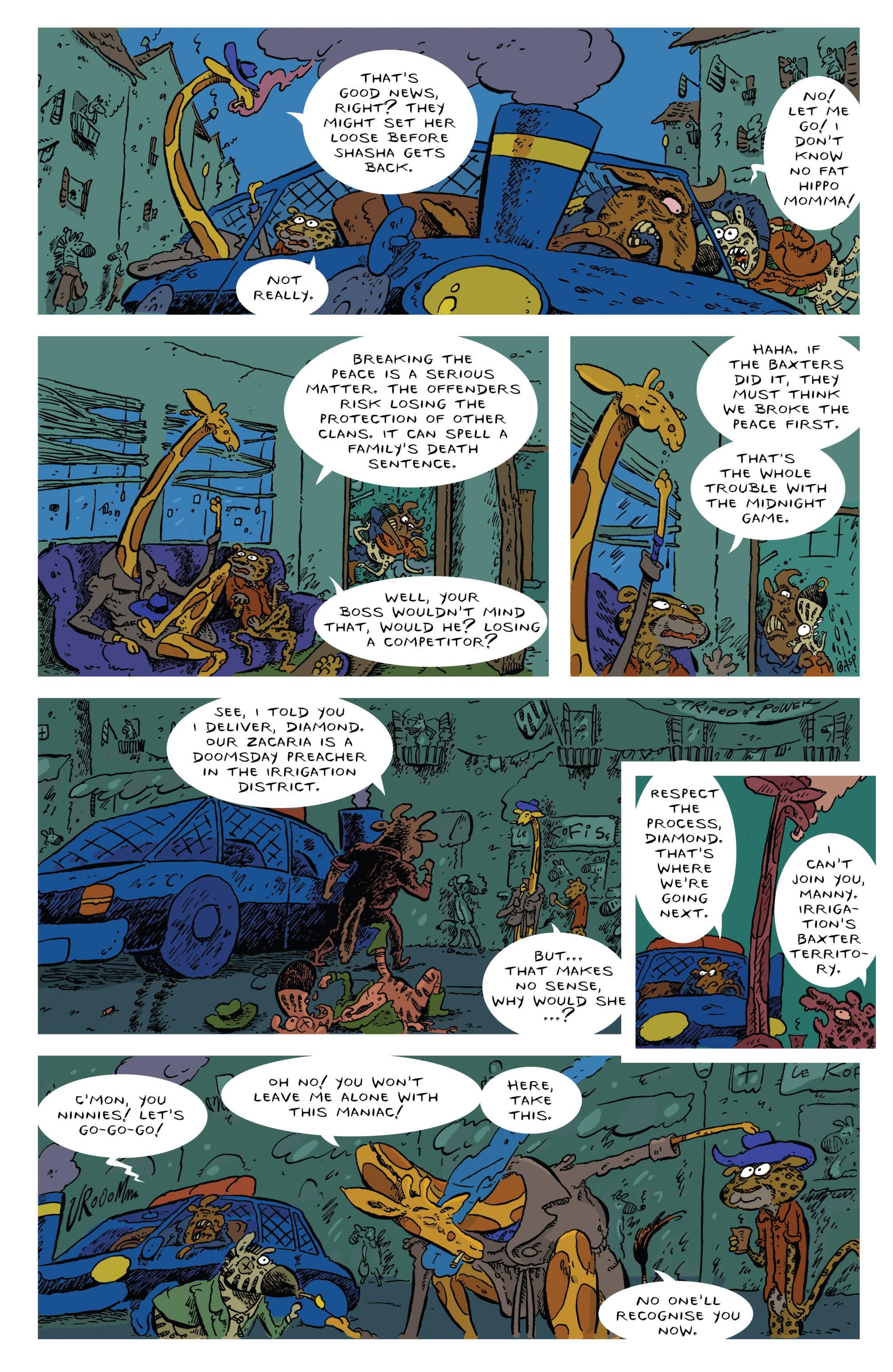 Read online Animal Noir comic -  Issue #4 - 11