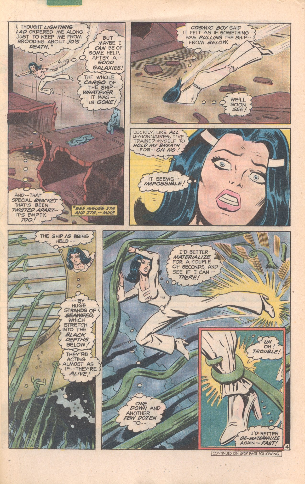 Legion of Super-Heroes (1980) 277 Page 4