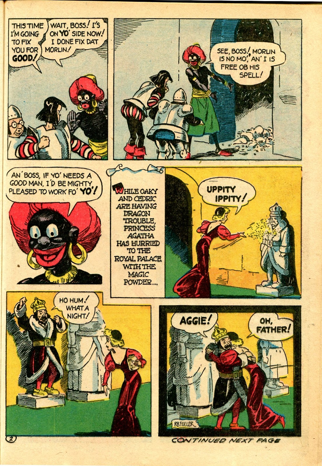 Read online Famous Funnies comic -  Issue #111 - 25