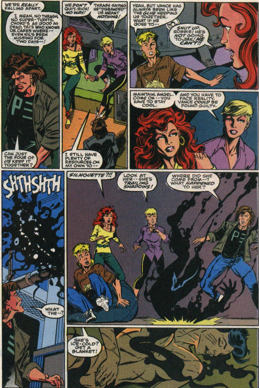 The New Warriors Issue #22 #26 - English 8