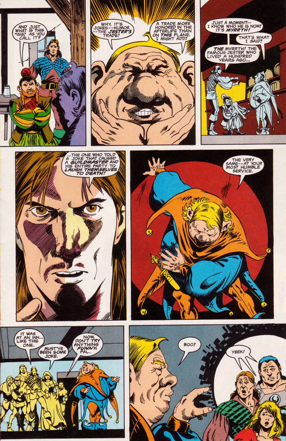 Read online Advanced Dungeons & Dragons comic -  Issue #5 - 6