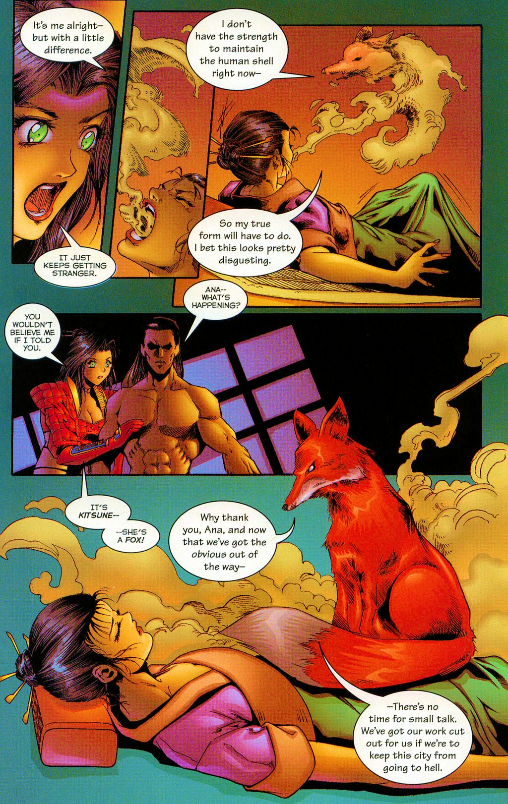 Read online Shi: The Series comic -  Issue #12 - 21