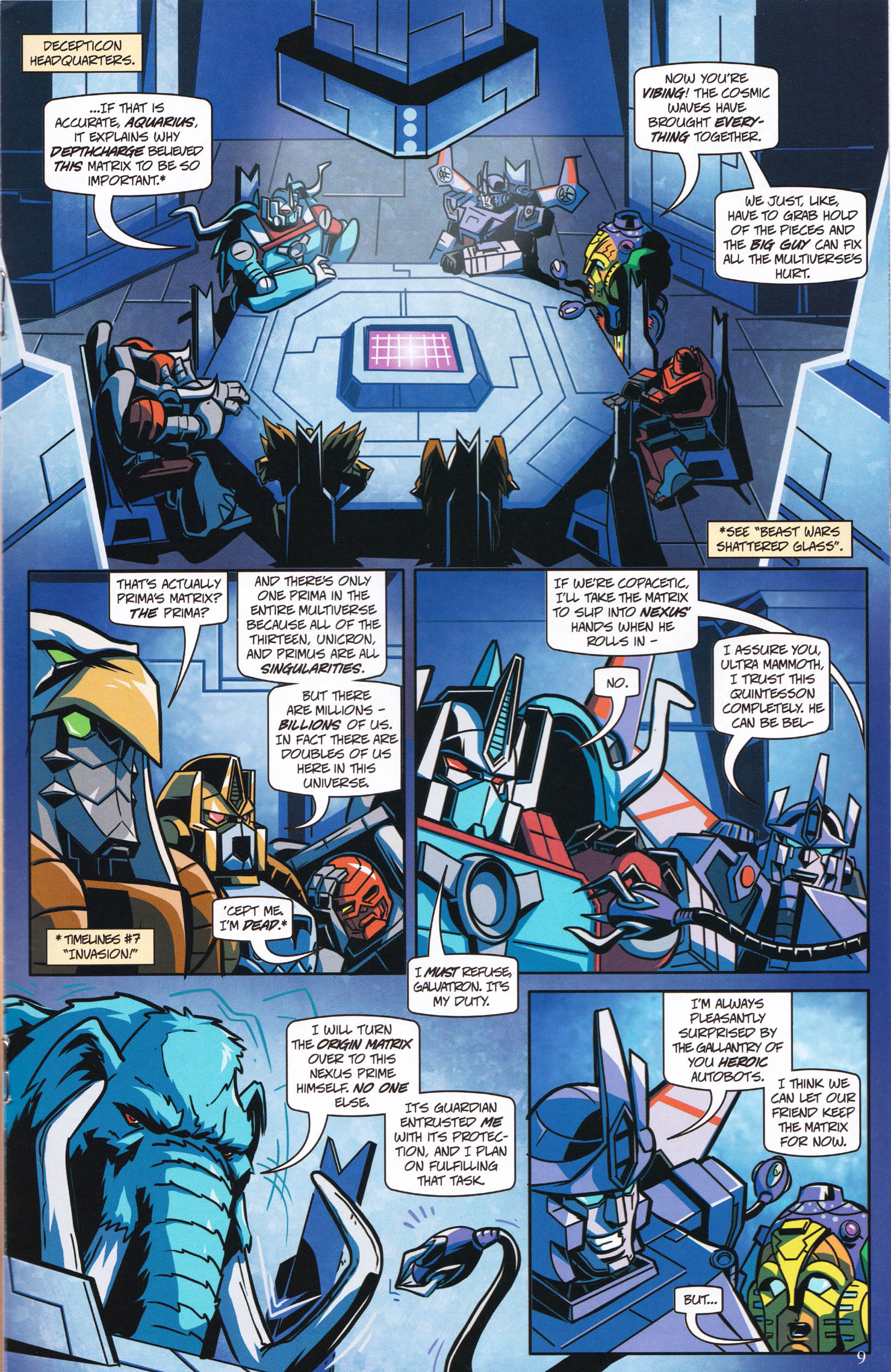 Read online Transformers: Collectors' Club comic -  Issue #61 - 9