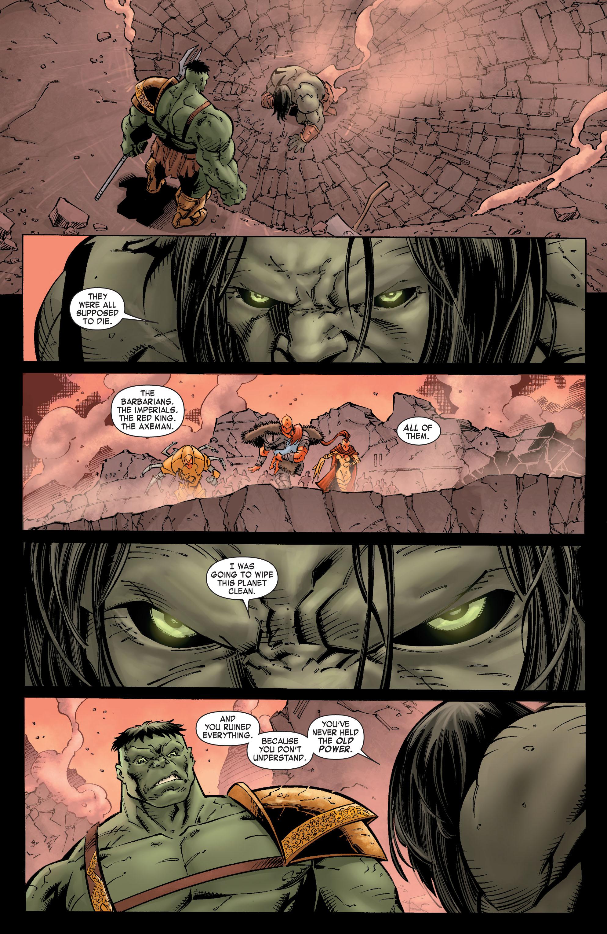 Read online Skaar: Son of Hulk comic -  Issue #9 - 19