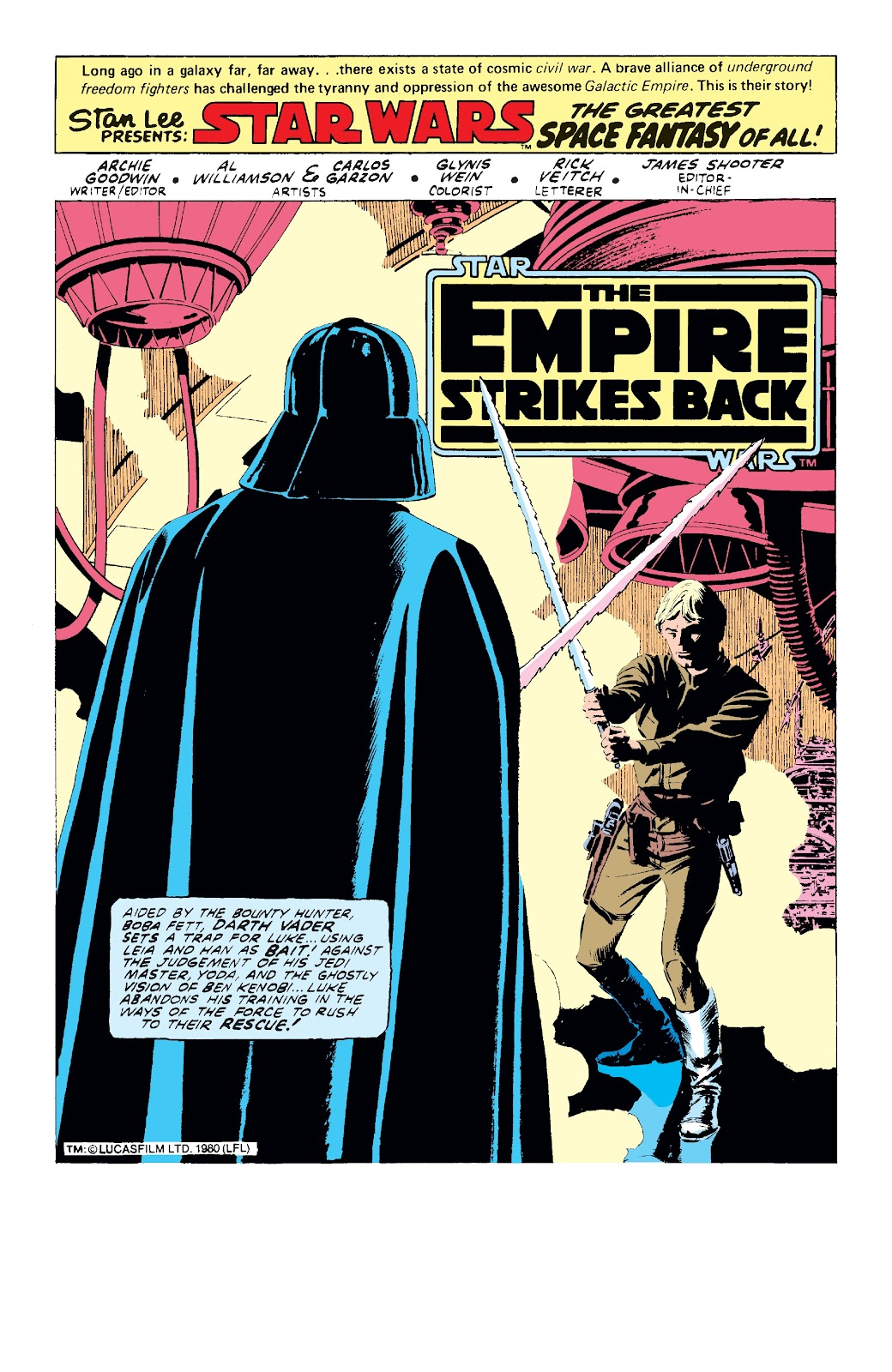 Read online Star Wars Legends: The Original Marvel Years - Epic Collection comic -  Issue # TPB 3 (Part 1) - 97