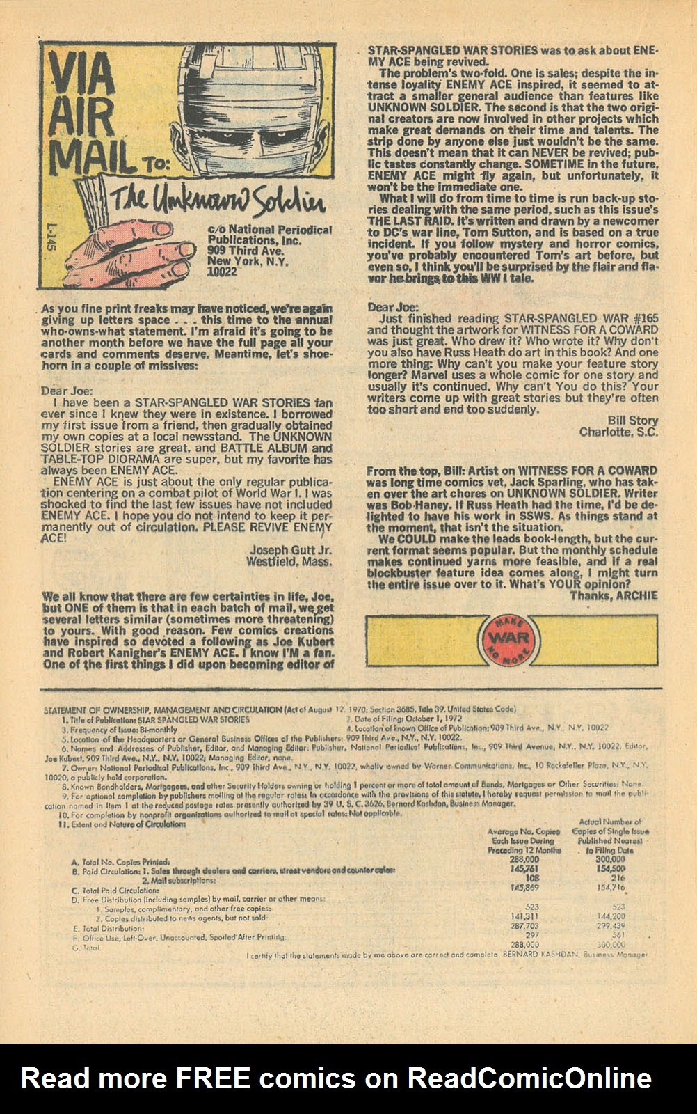 Read online Star Spangled War Stories (1952) comic -  Issue #168 - 19