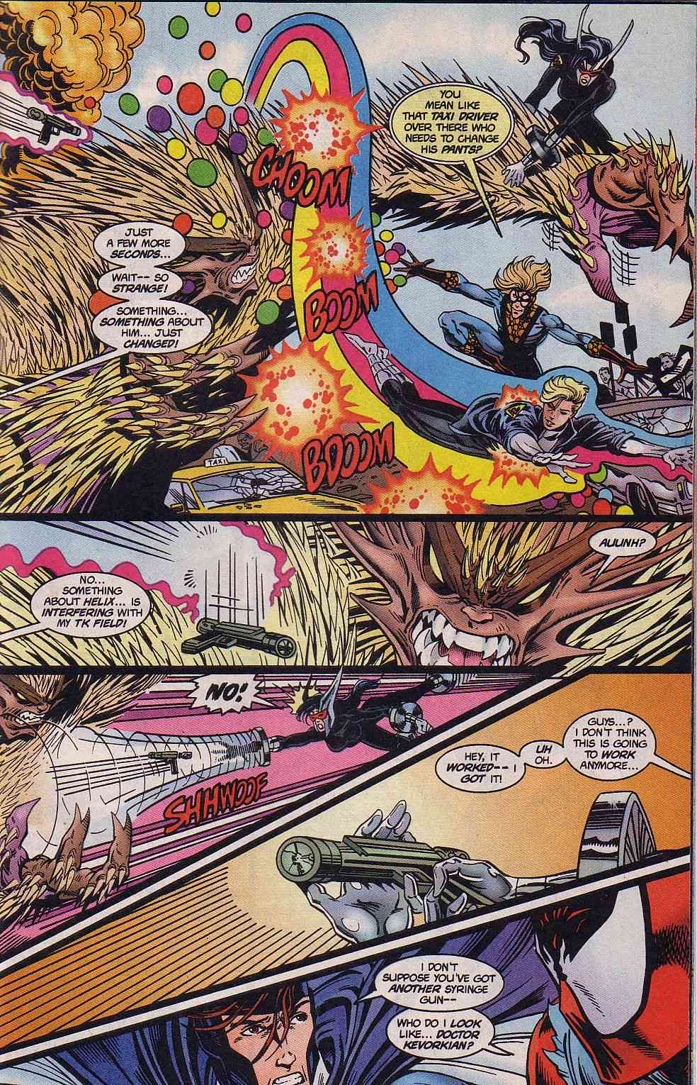 The New Warriors Issue #62 #66 - English 15