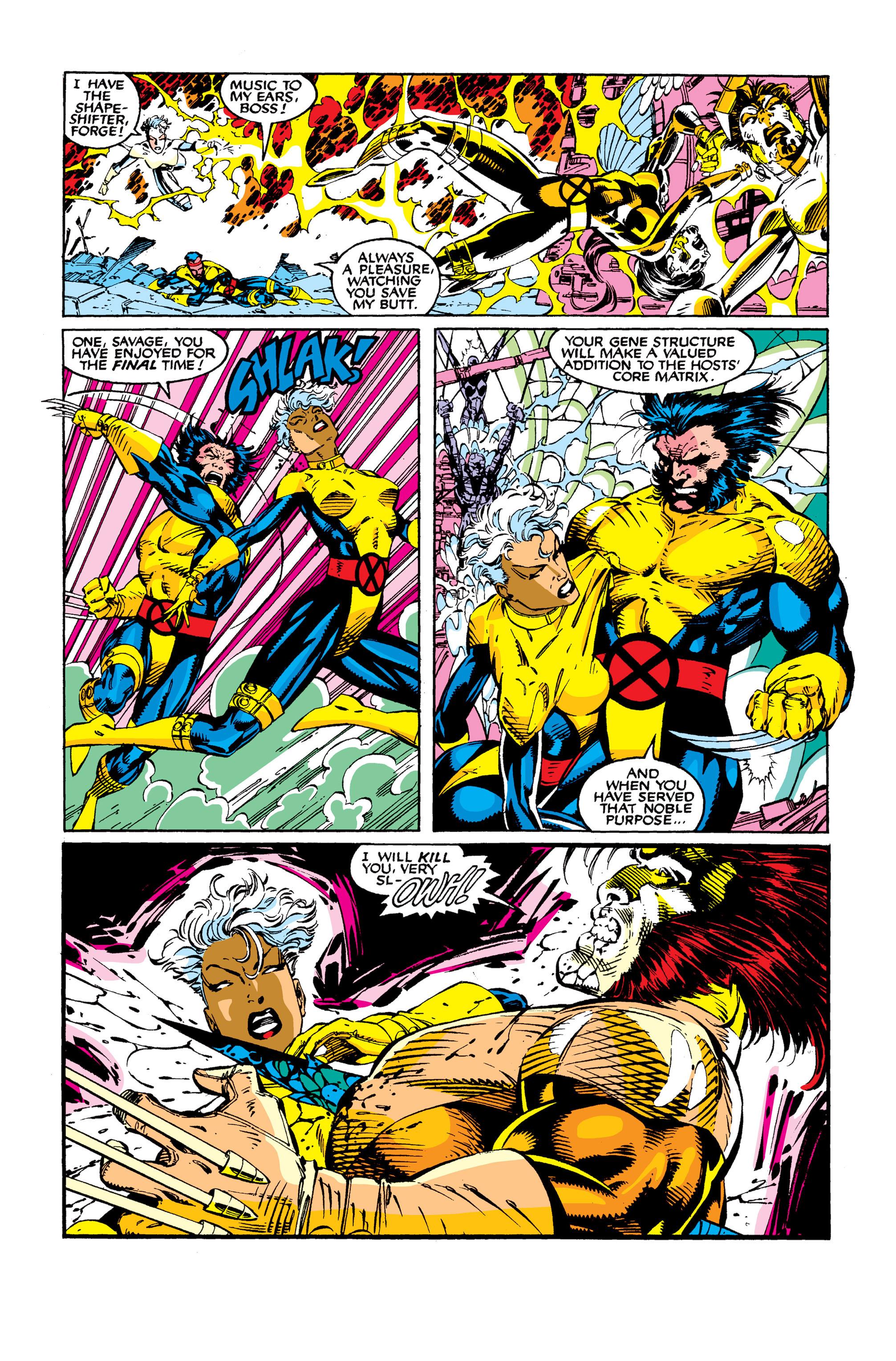 Read online Uncanny X-Men (1963) comic -  Issue #277 - 17