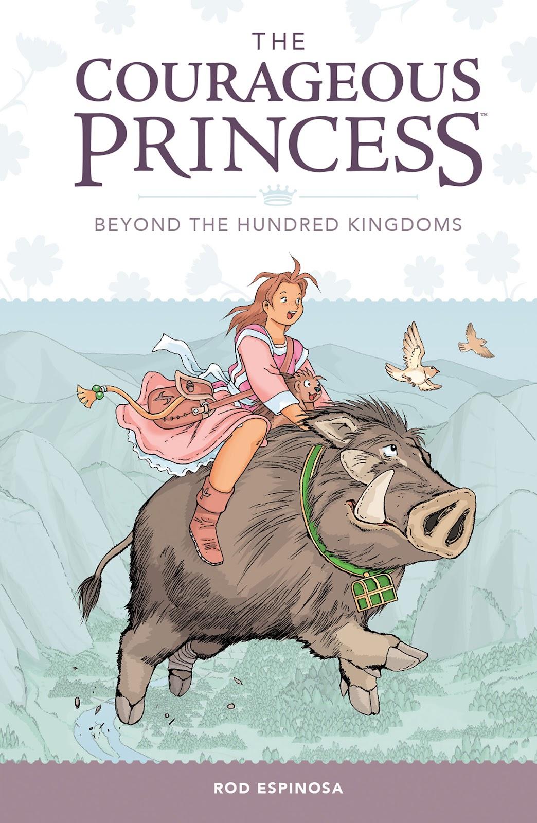 Courageous Princess TPB_1 Page 1