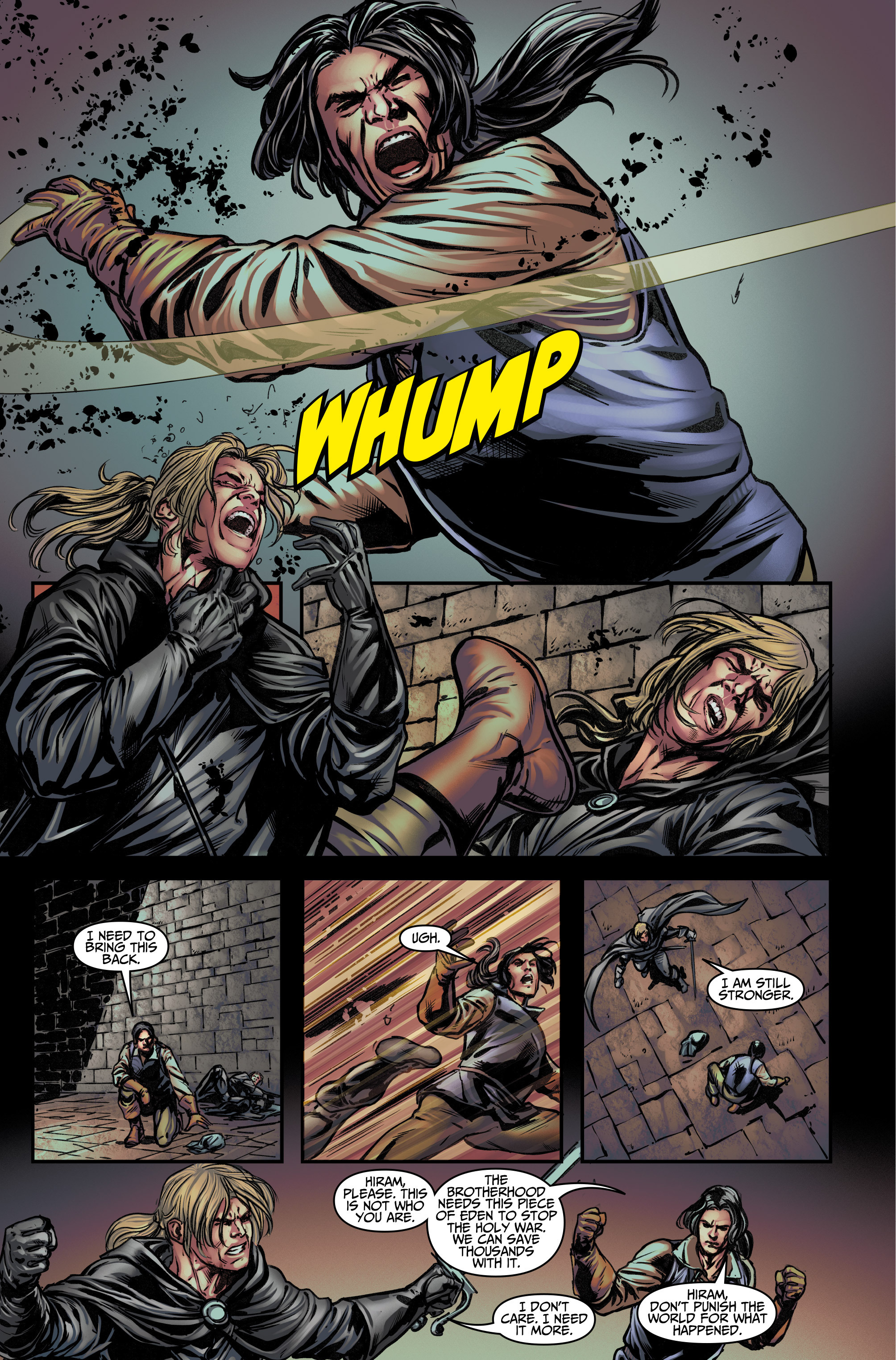 Read online Assassin's Creed (2015) comic -  Issue #12 - 4