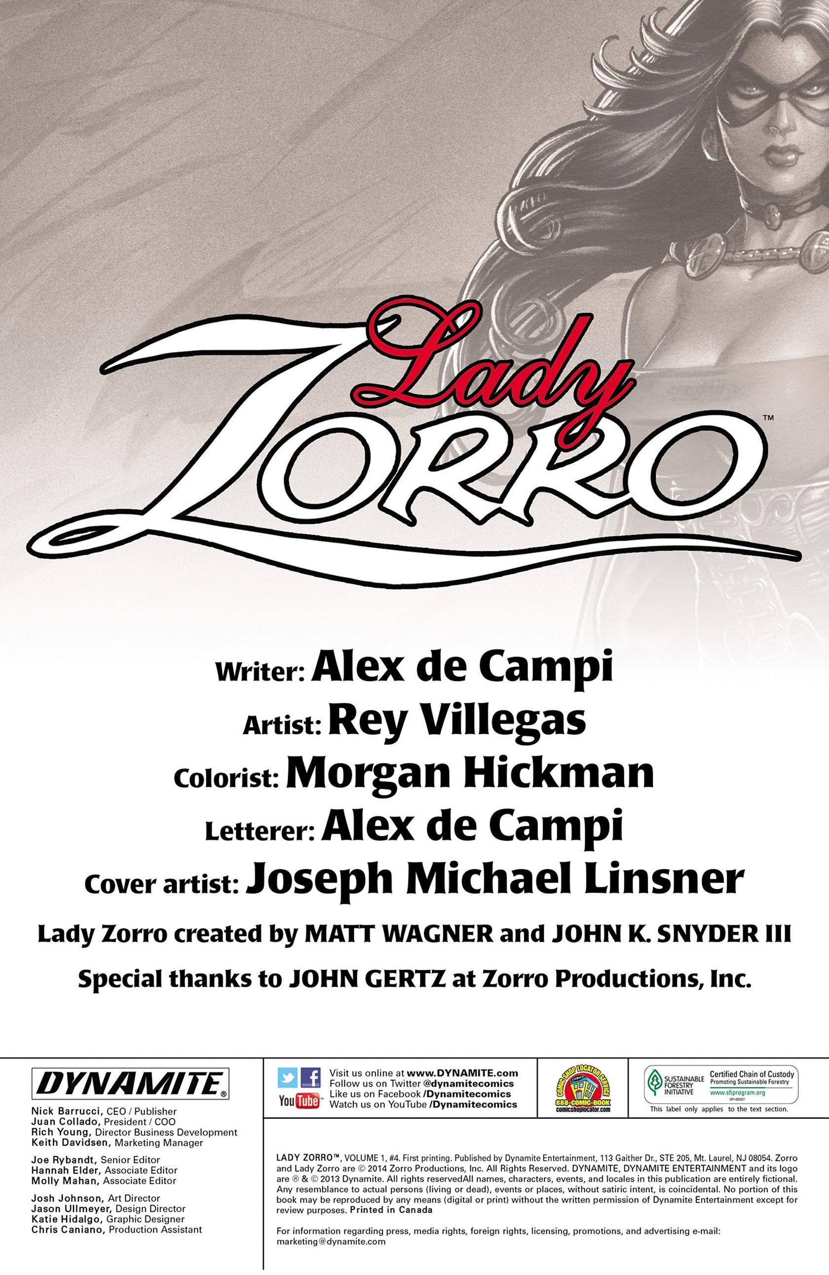 Lady Zorro 4 Page 2