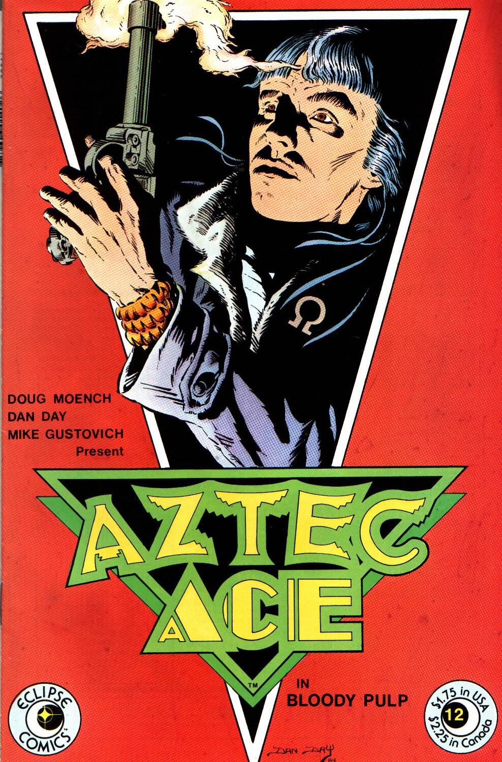 Read online Aztec Ace comic -  Issue #12 - 1
