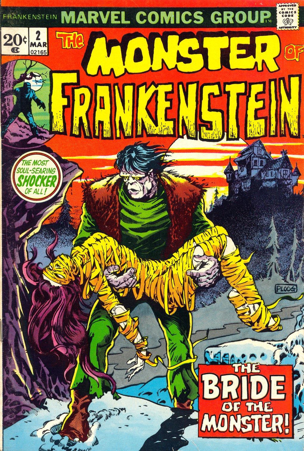 Frankenstein (1973) issue 2 - Page 1