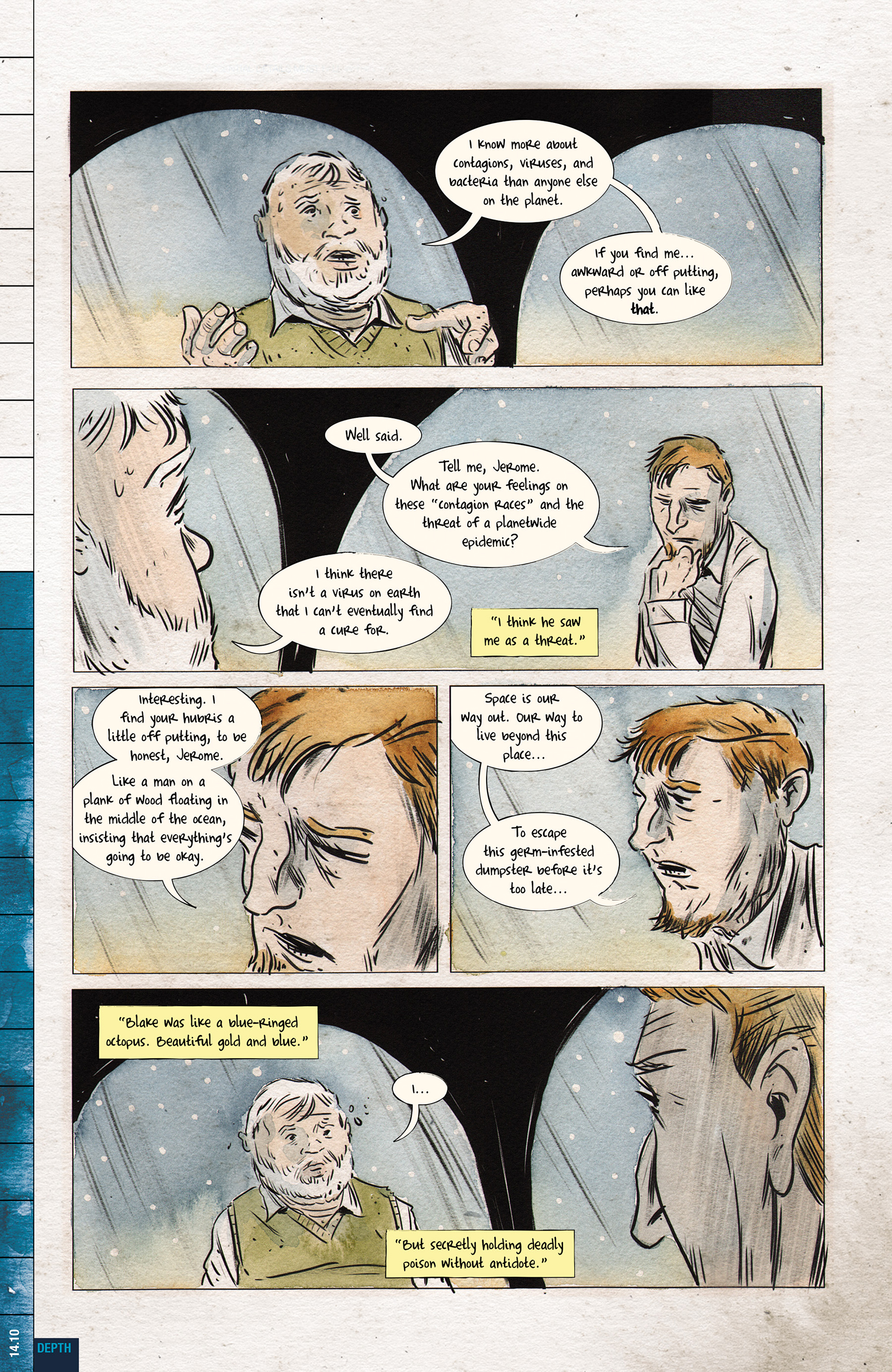 Read online Dept. H comic -  Issue #14 - 12