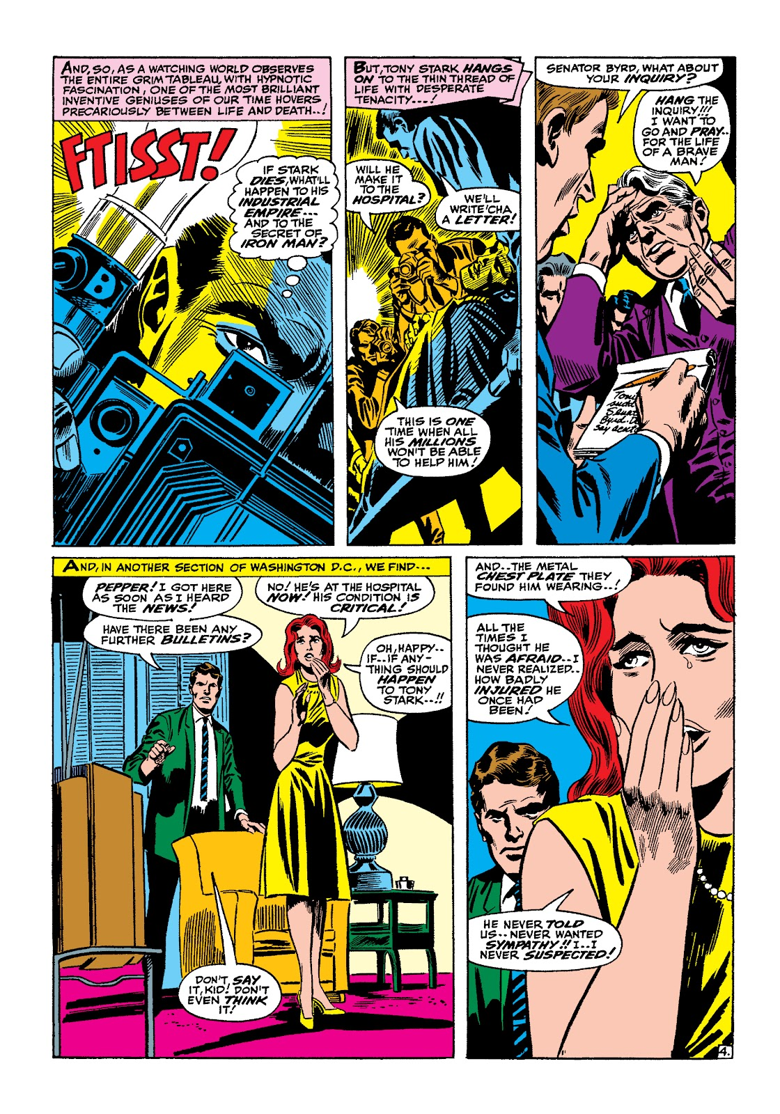 Read online Marvel Masterworks: The Invincible Iron Man comic -  Issue # TPB 4 (Part 1) - 10