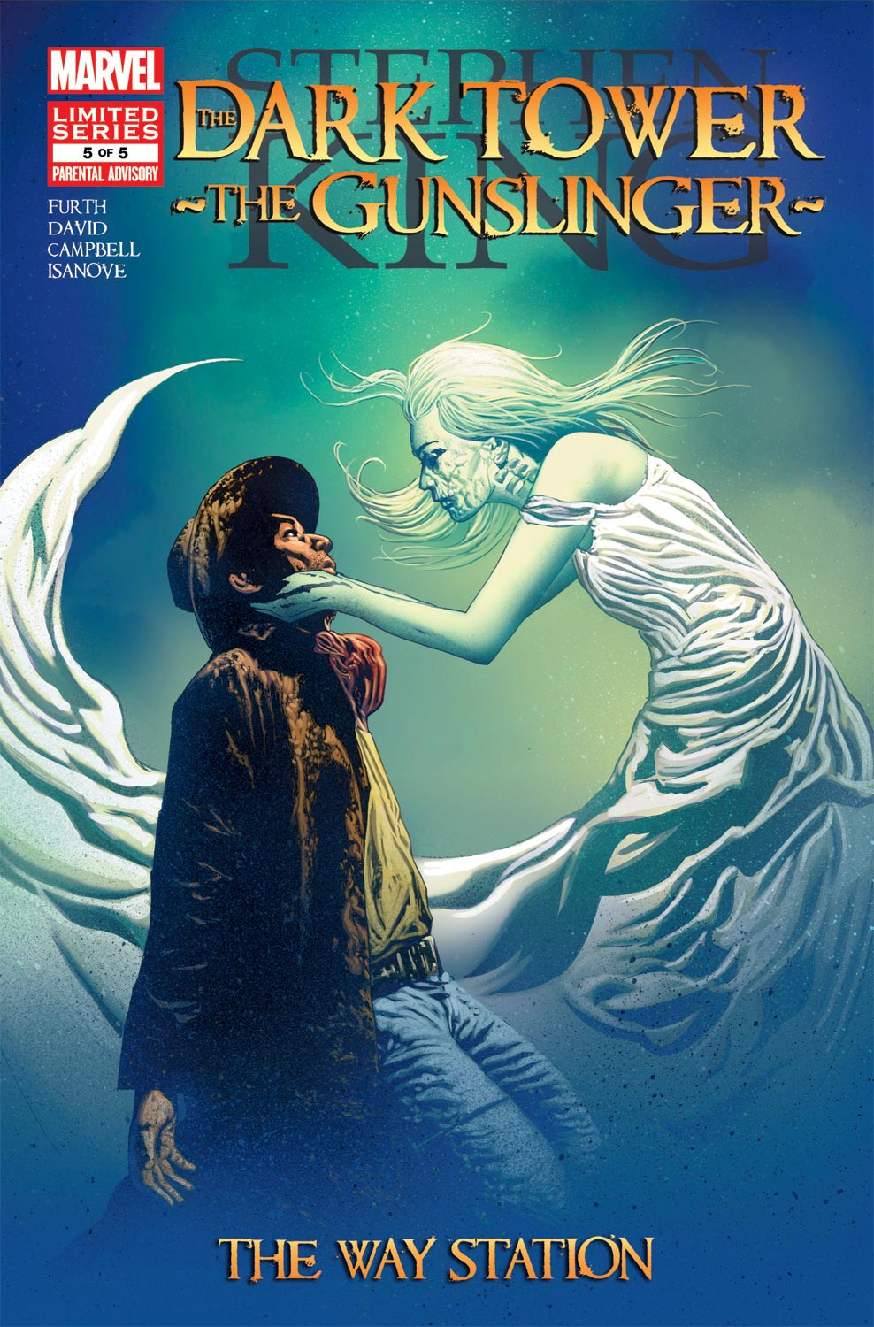 Read online Dark Tower: The Gunslinger - The Way Station comic -  Issue #5 - 1