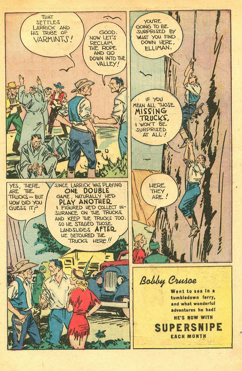 Read online Super-Magician Comics comic -  Issue #56 - 49