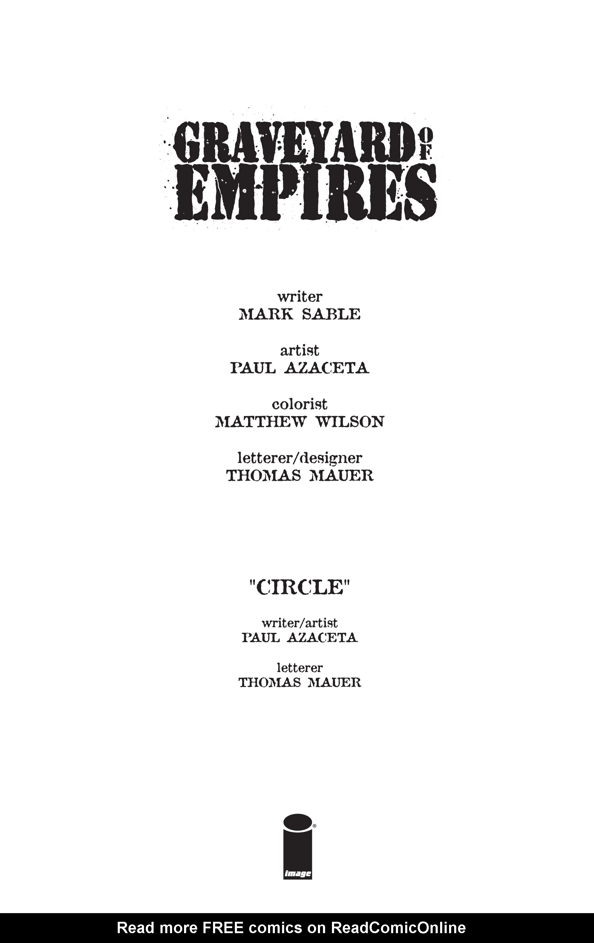 Read online Graveyard of Empires comic -  Issue # TPB - 7