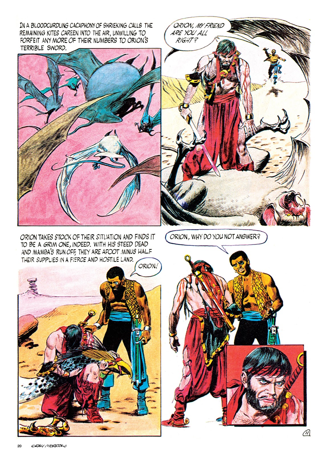 Read online Orion and Edge of Chaos comic -  Issue # TPB - 21